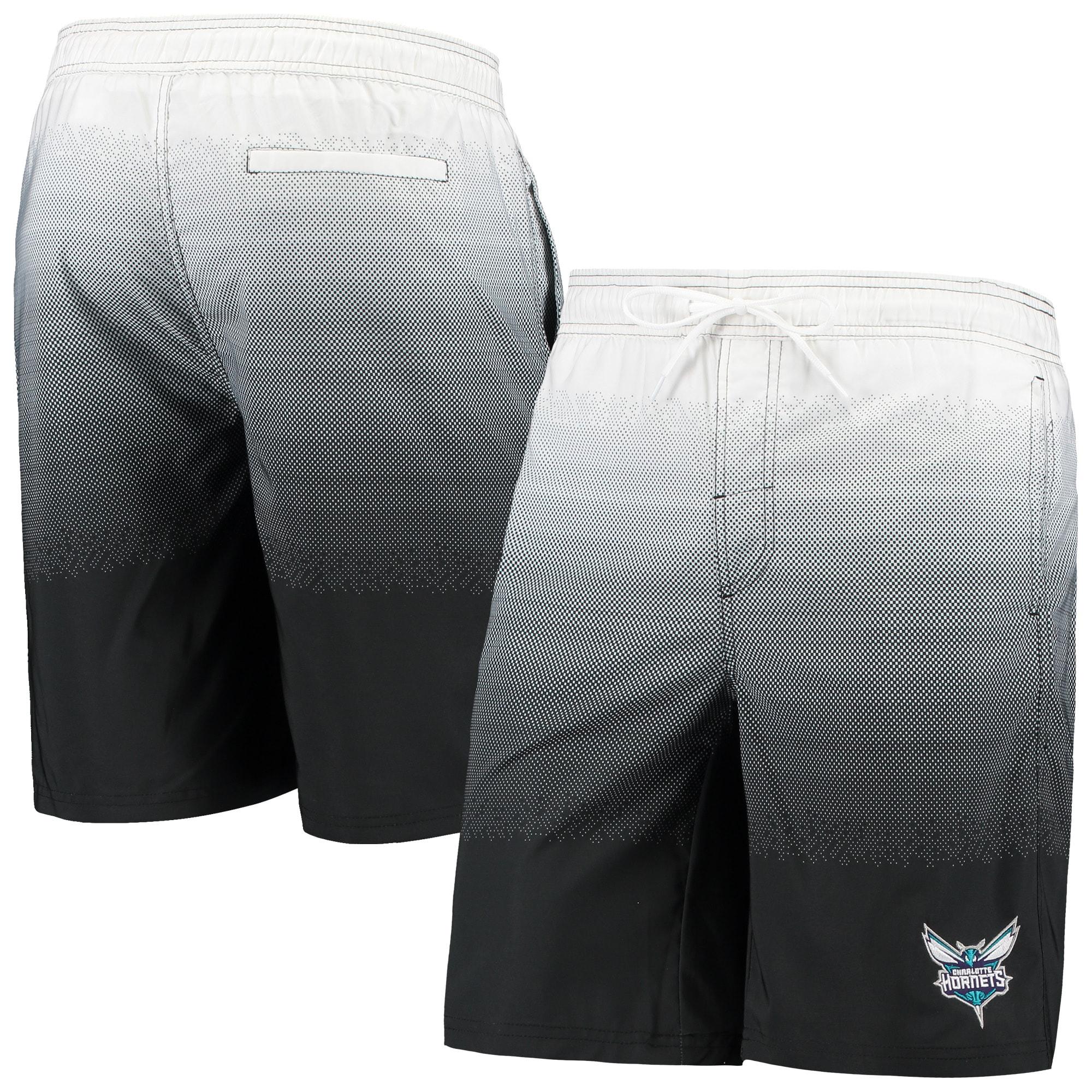 Charlotte Hornets G-III Sports by Carl Banks Horizon Swim Trunks - Black
