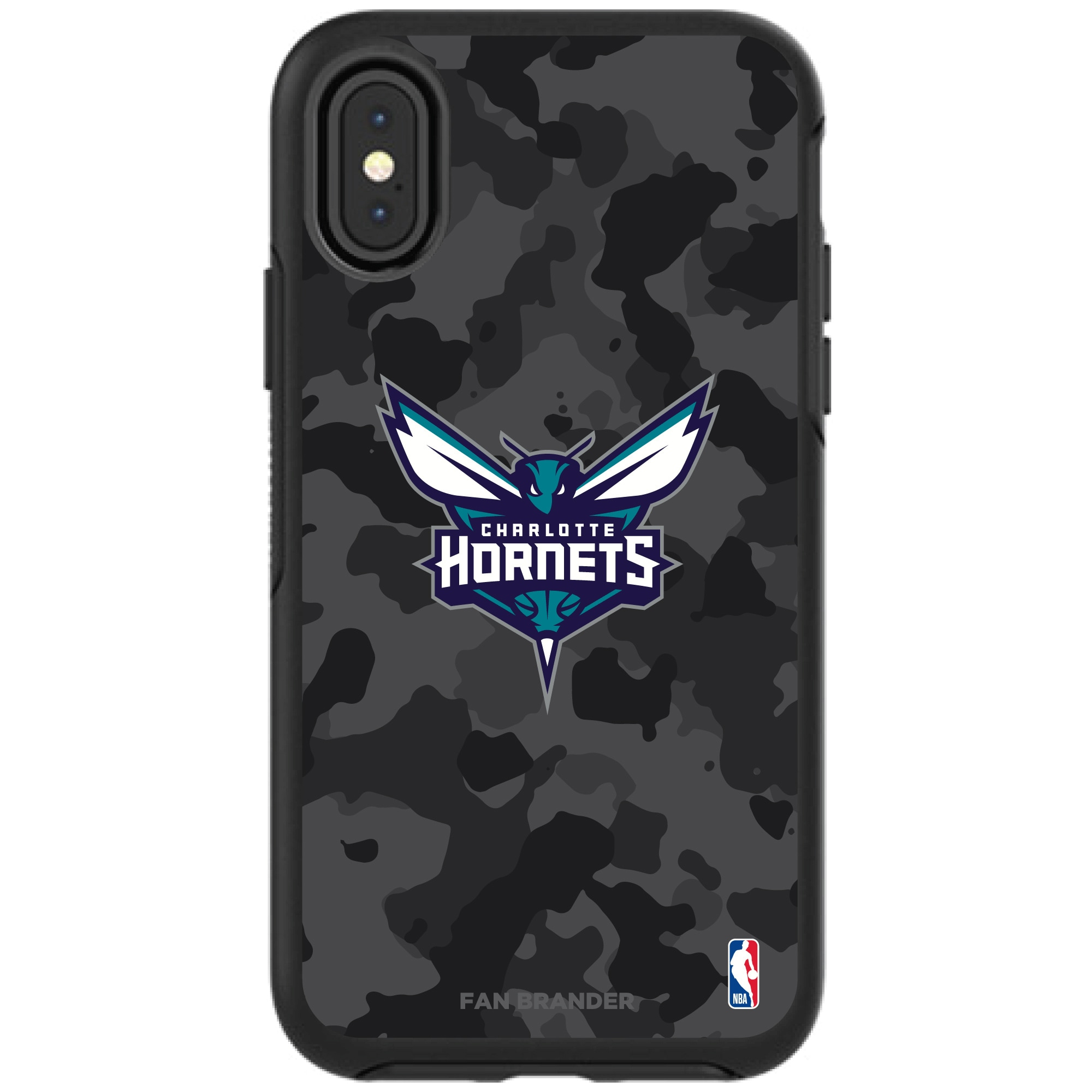 Charlotte Hornets OtterBox Urban Camo iPhone Case