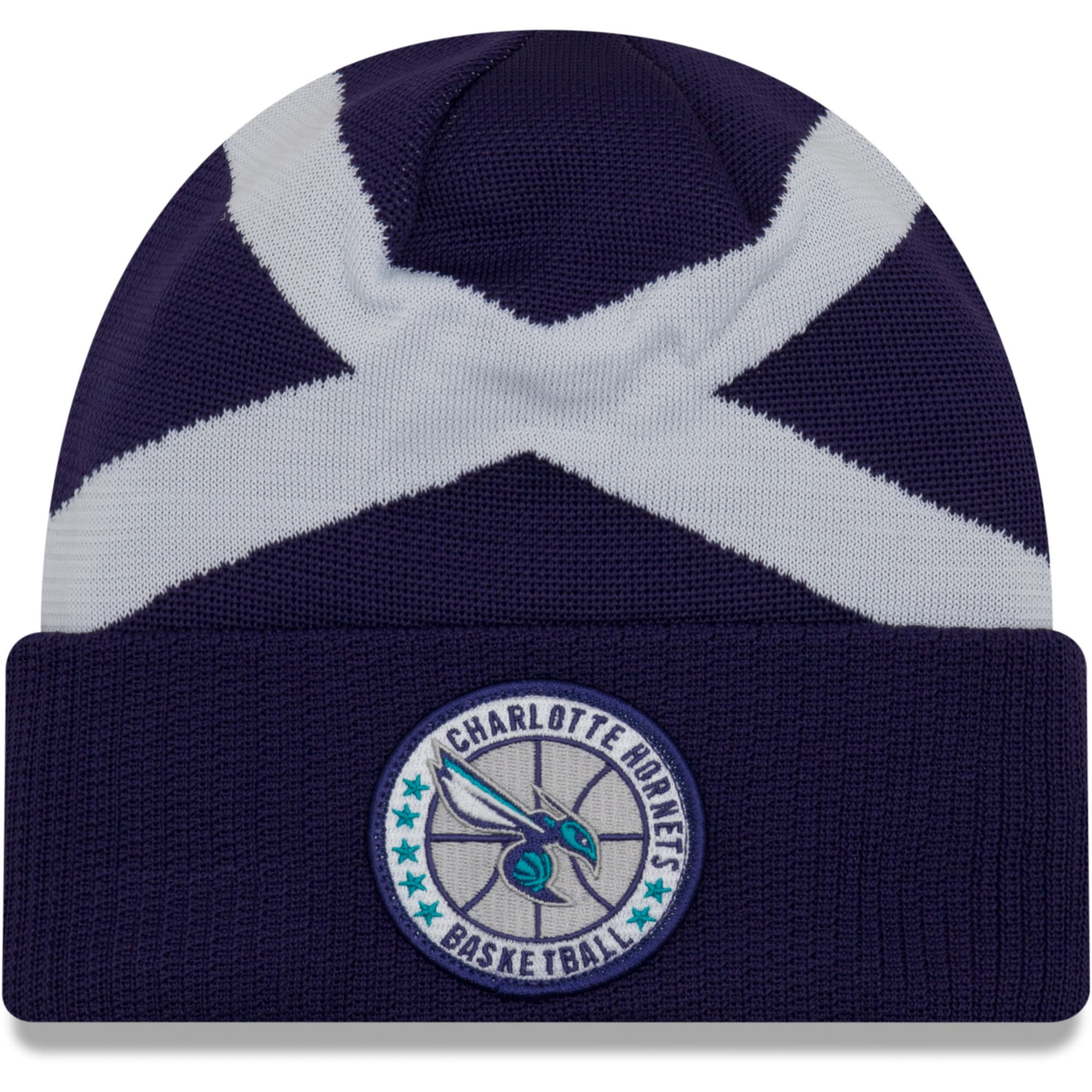 Charlotte Hornets New Era 2018 Tip Off Series Cuffed Knit Hat - Purple