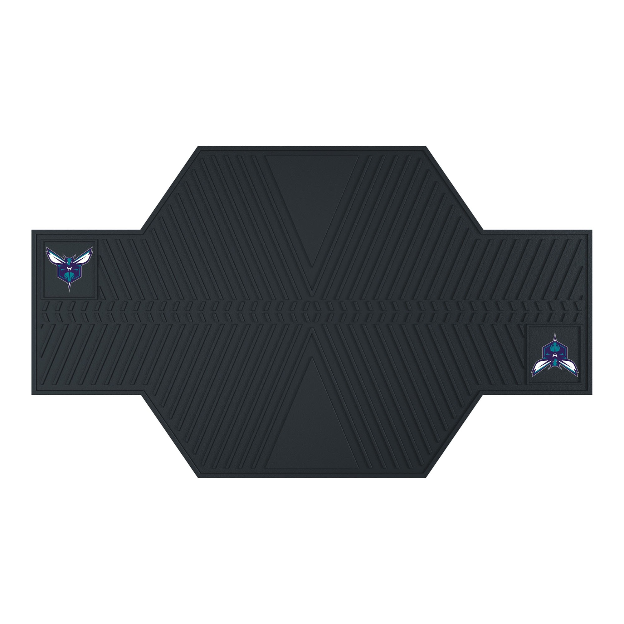 Charlotte Hornets Motorcycle Mat