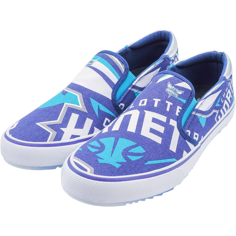 Charlotte Hornets Slip-On Canvas Shoes - Teal