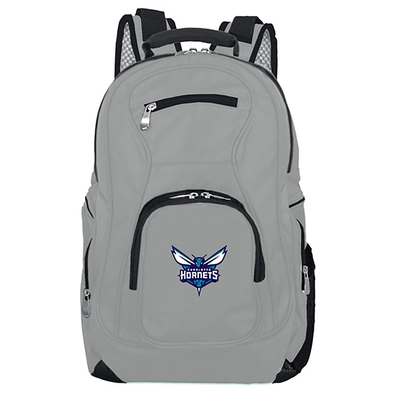 Charlotte Hornets Backpack Laptop - Gray