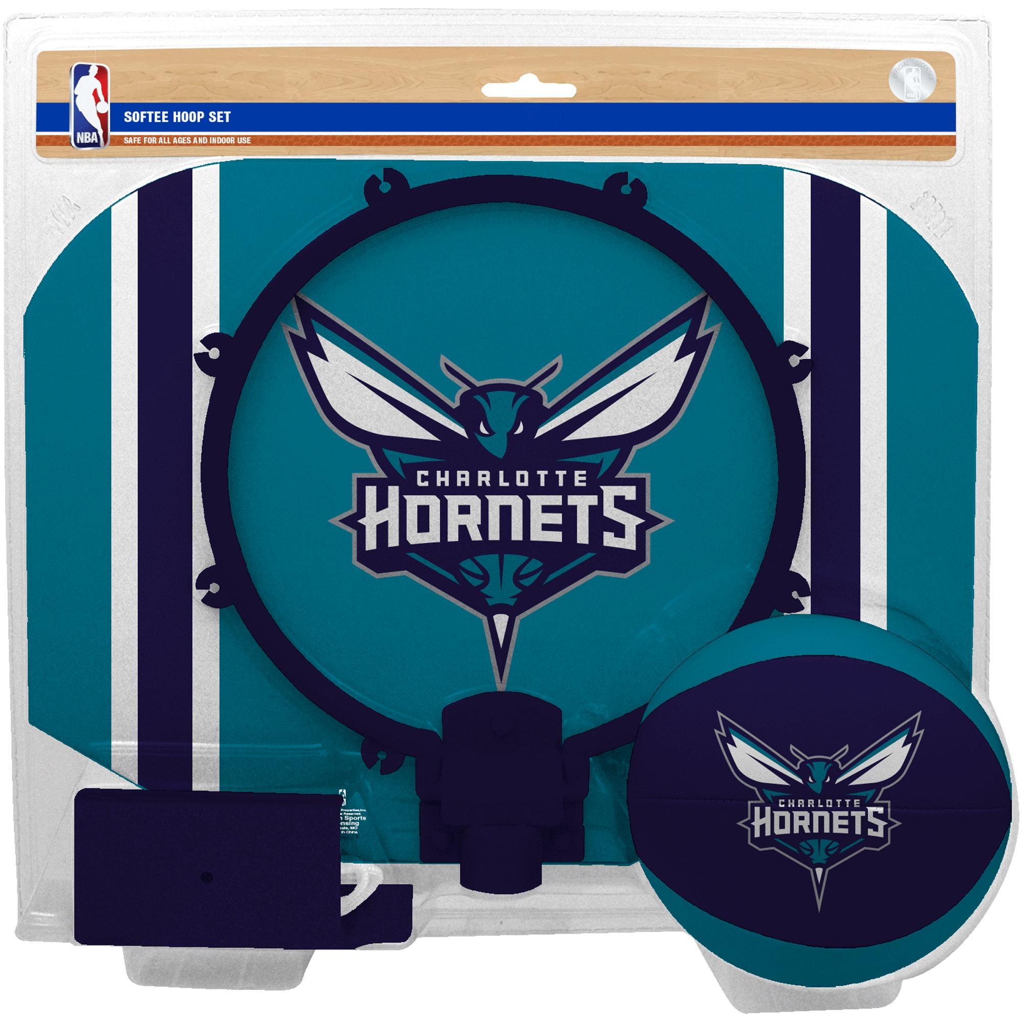 Charlotte Hornets Rawlings Softee Hoop & Ball Set