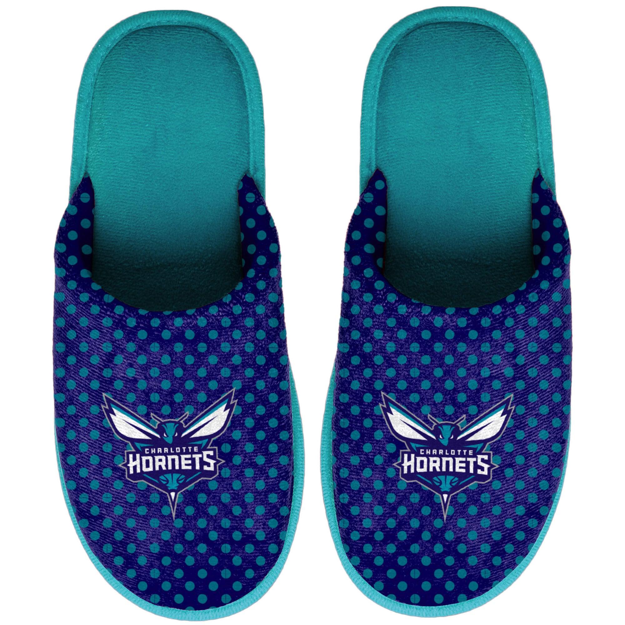Charlotte Hornets Women's Big Logo Scuff Slippers
