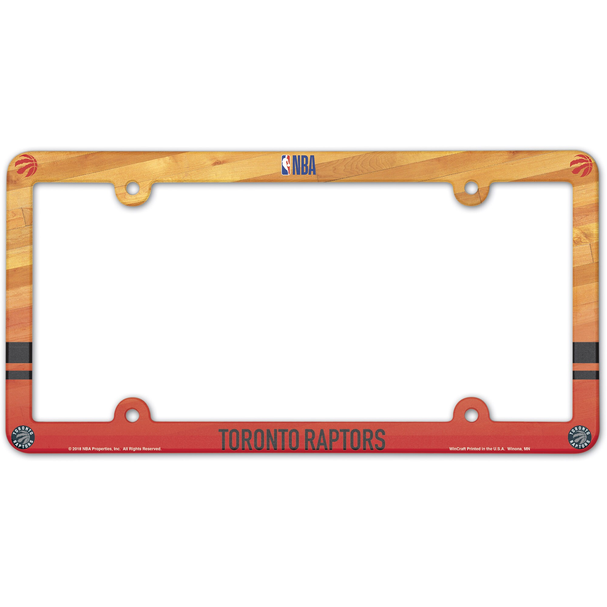 Toronto Raptors WinCraft Team License Plate Frame