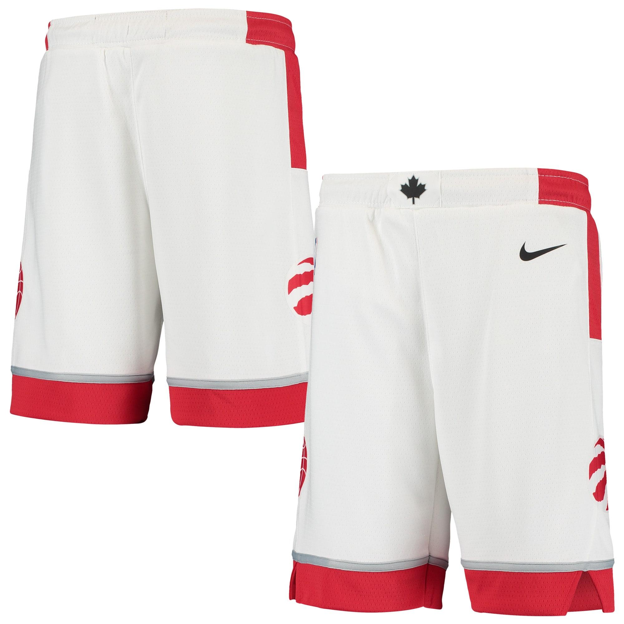 Toronto Raptors Nike Youth Swingman Association Short - White