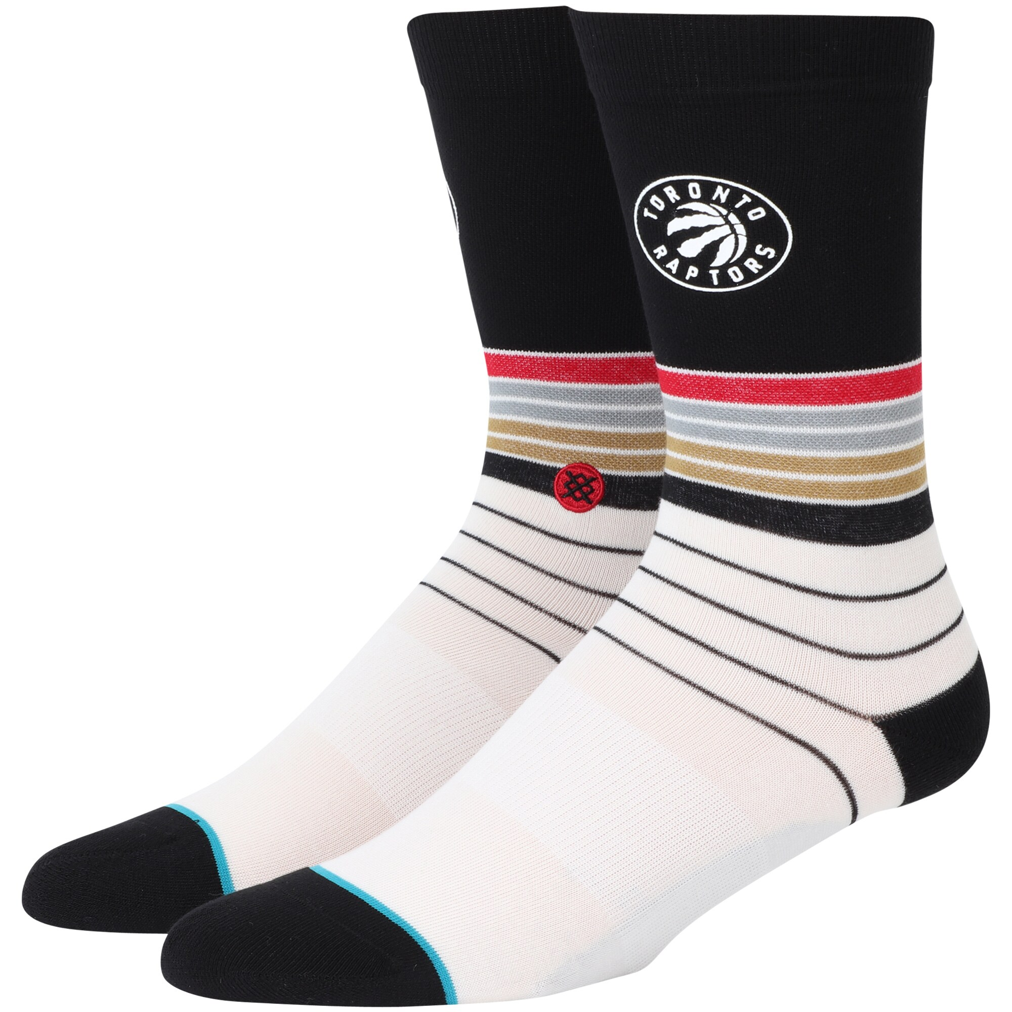 Toronto Raptors Stance Baseline Dress Socks