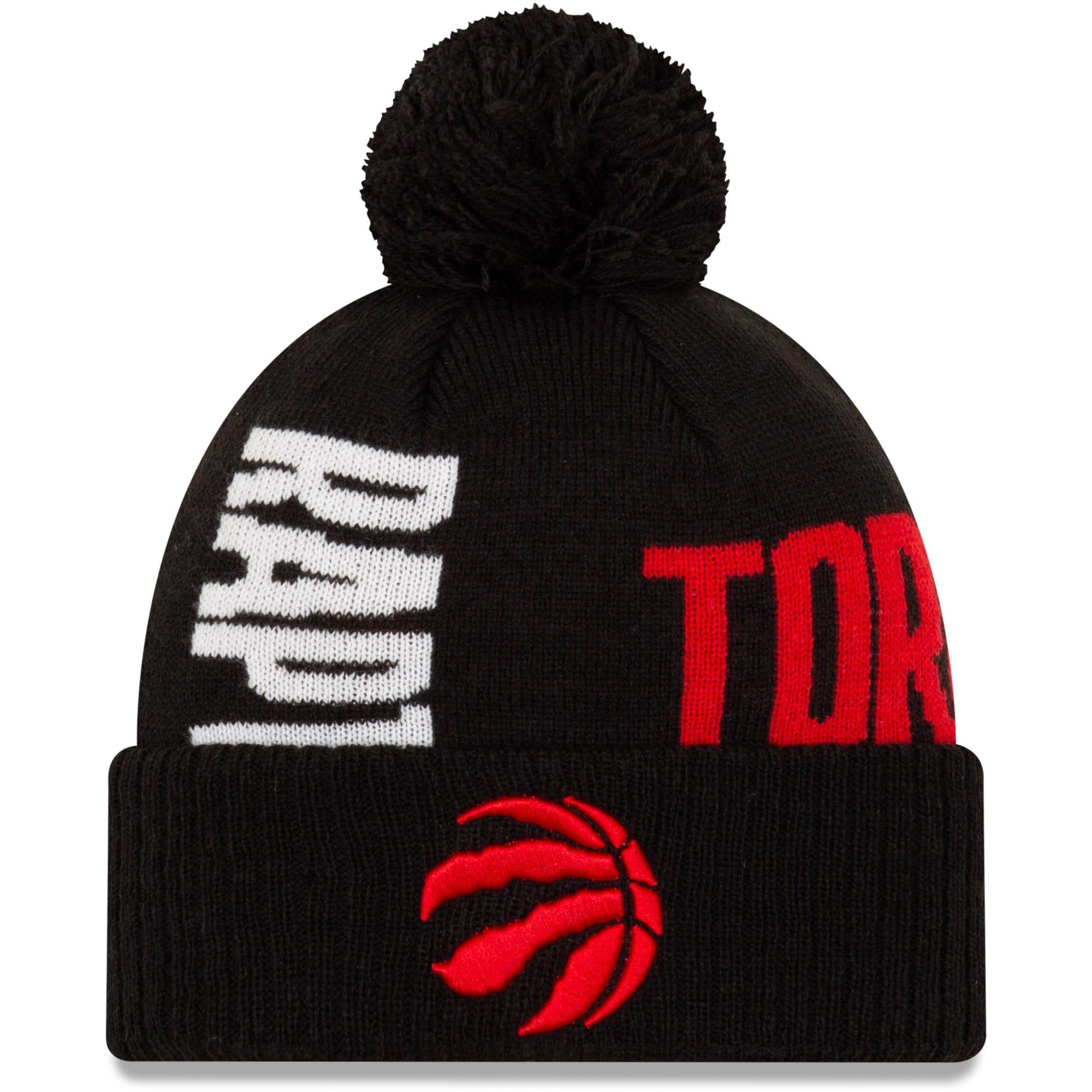 Toronto Raptors New Era 2019 NBA Tip-Off Series Cuffed Knit Hat - Black