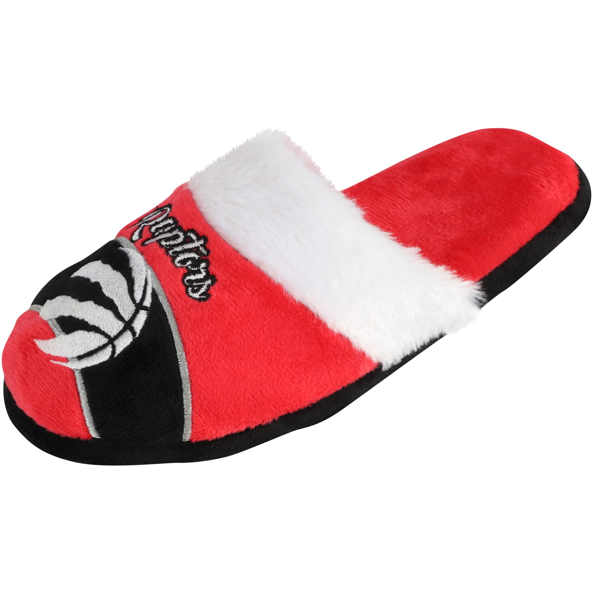 Toronto Raptors Women's Stripe Logo Slide Slippers