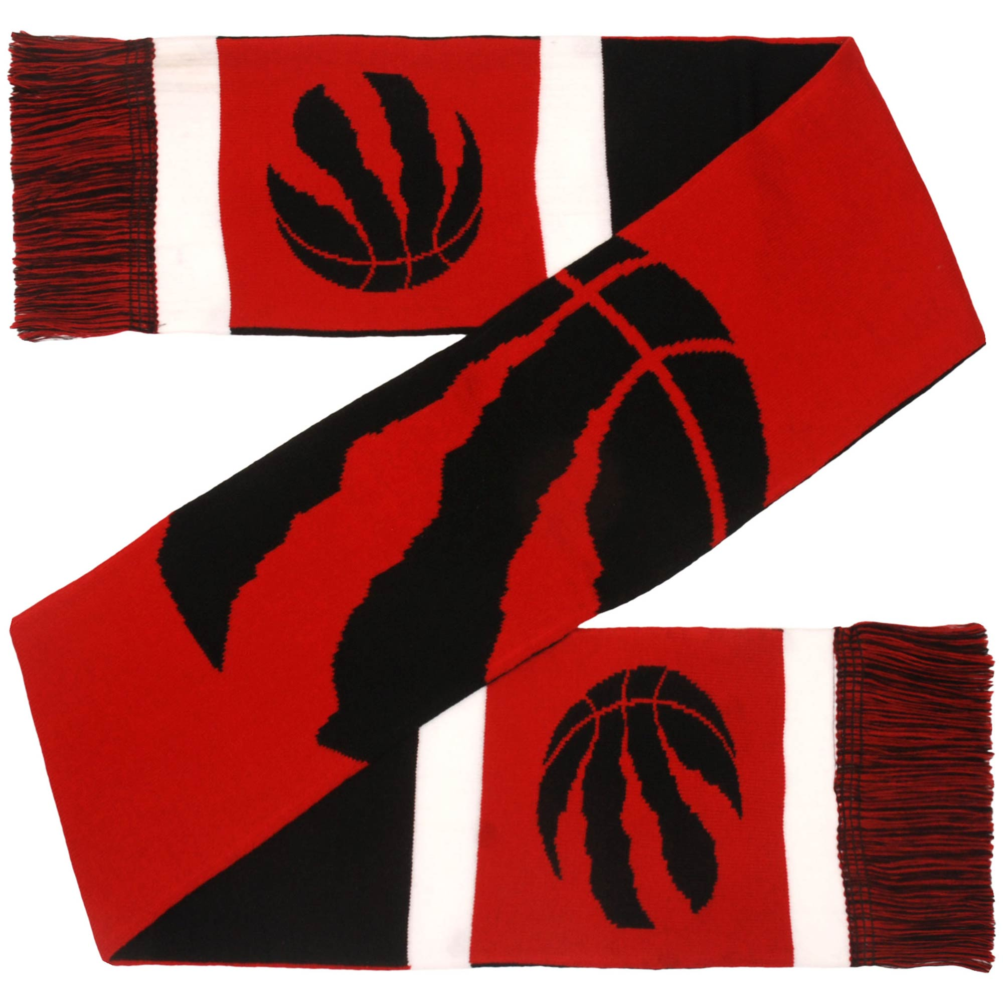 Toronto Raptors Reversible Colorblock Scarf