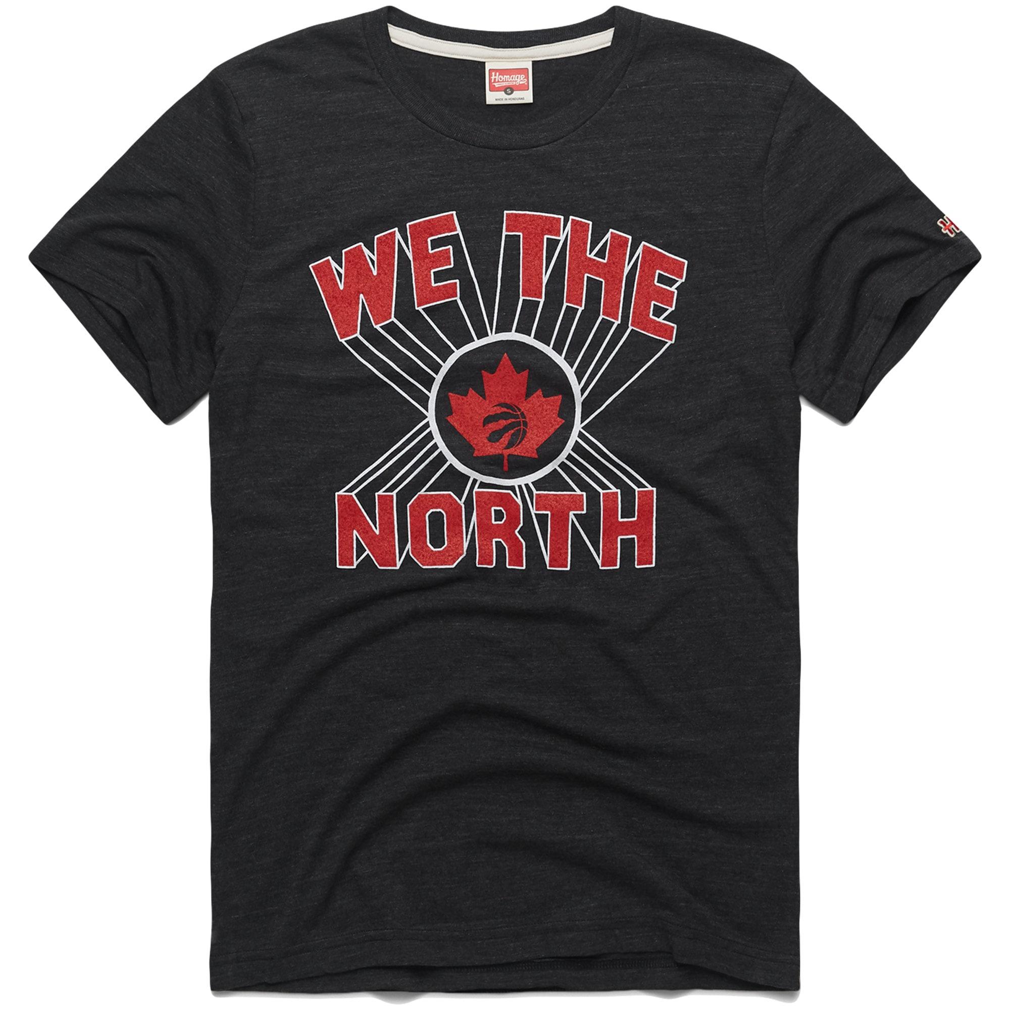 Toronto Raptors Slogan Tri-Blend T-Shirt - Charcoal