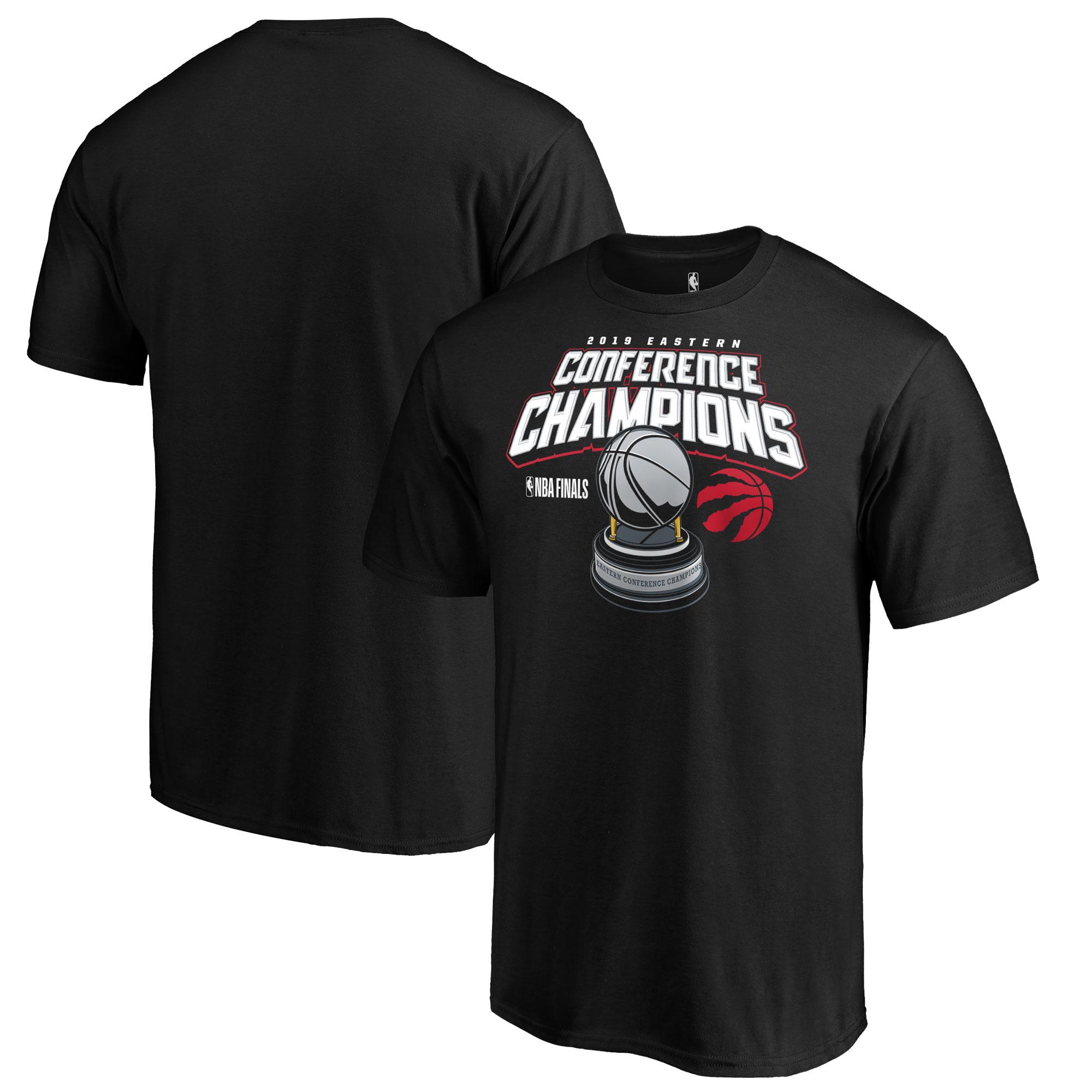 Toronto Raptors Fanatics Branded 2019 Eastern Conference Champions Level of Desire T-Shirt - Black