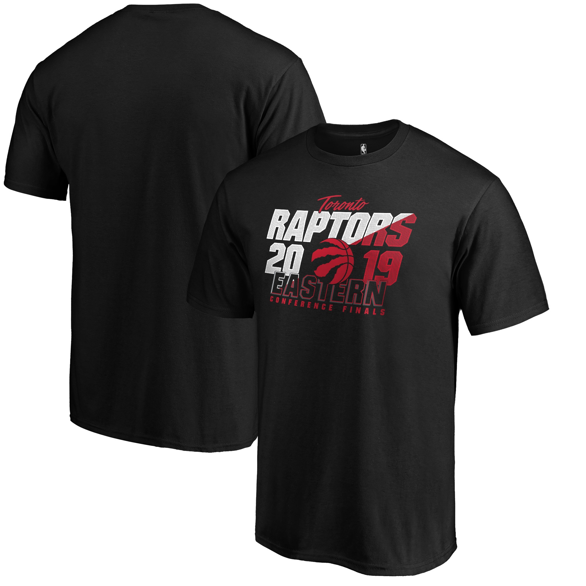 Toronto Raptors Fanatics Branded 2019 NBA Playoffs Eastern Conference Finals Bound Real Flava T-Shirt - Black