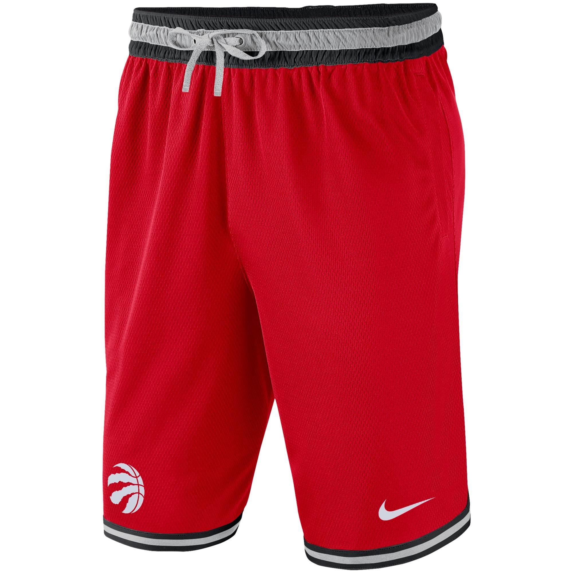 Toronto Raptors Nike Heavyweight DNA Performance Shorts - Red