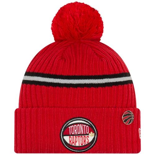 Toronto Raptors New Era 2019 NBA Draft Cuffed Knit Hat - Red