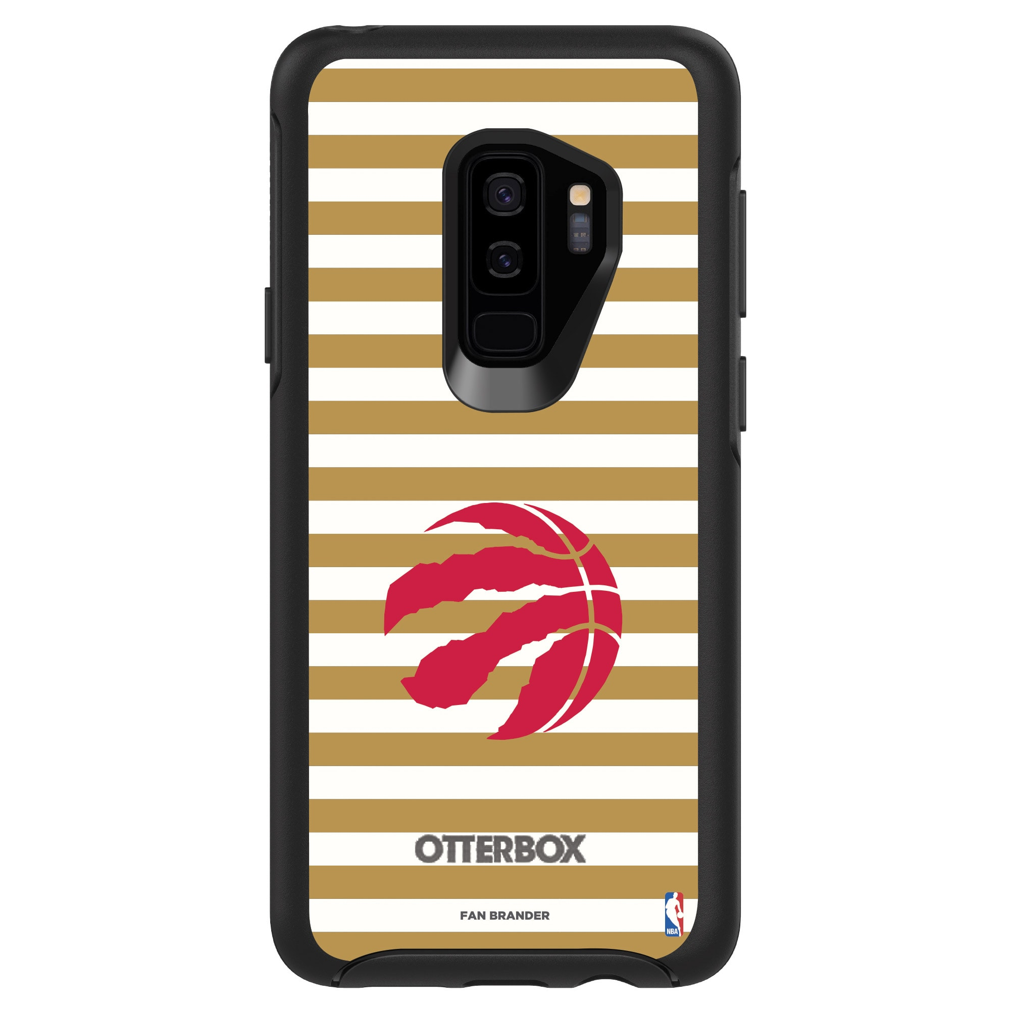 Toronto Raptors OtterBox Galaxy Symmetry Striped Design Case