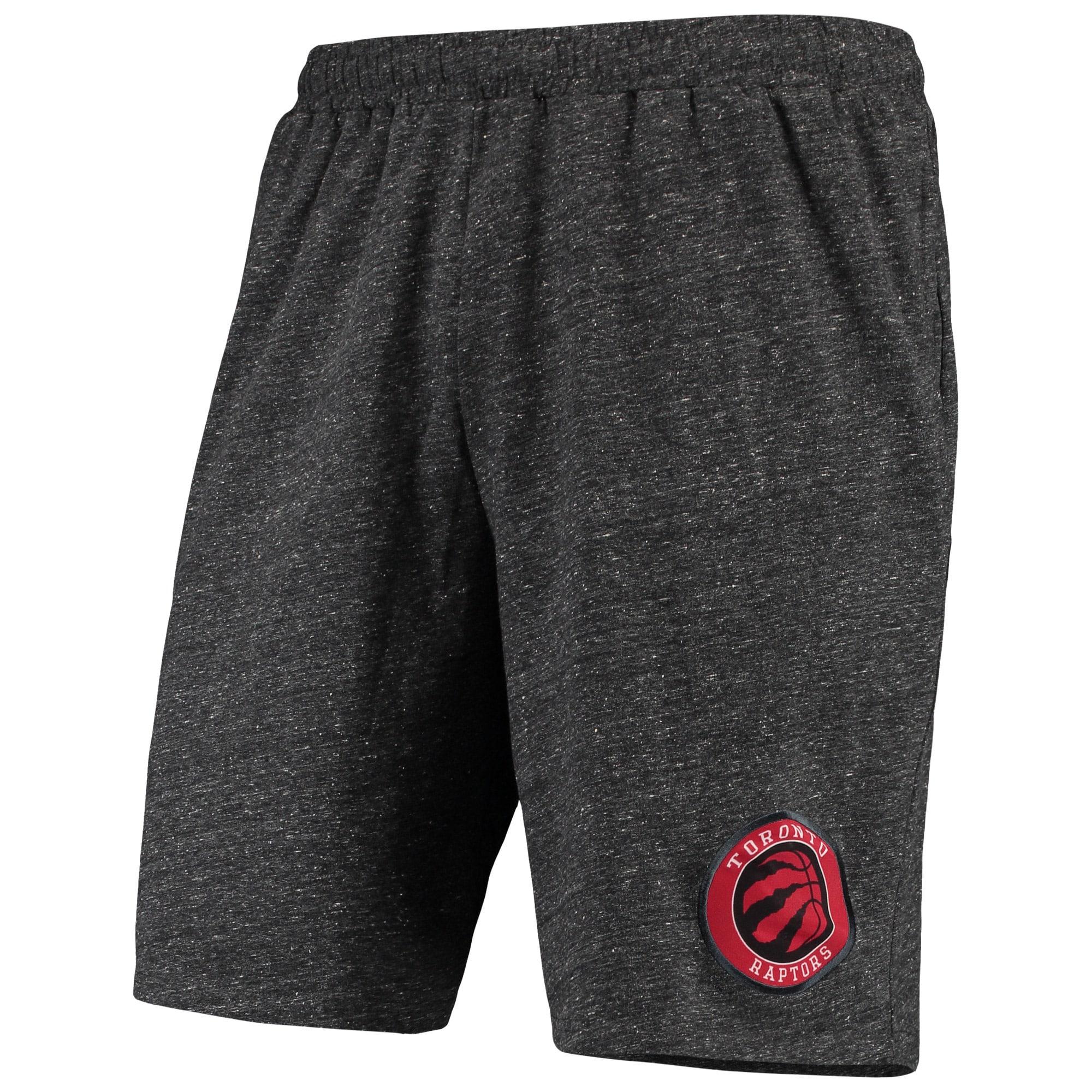 Toronto Raptors Concepts Sport Pitch Knit Jam Shorts - Charcoal
