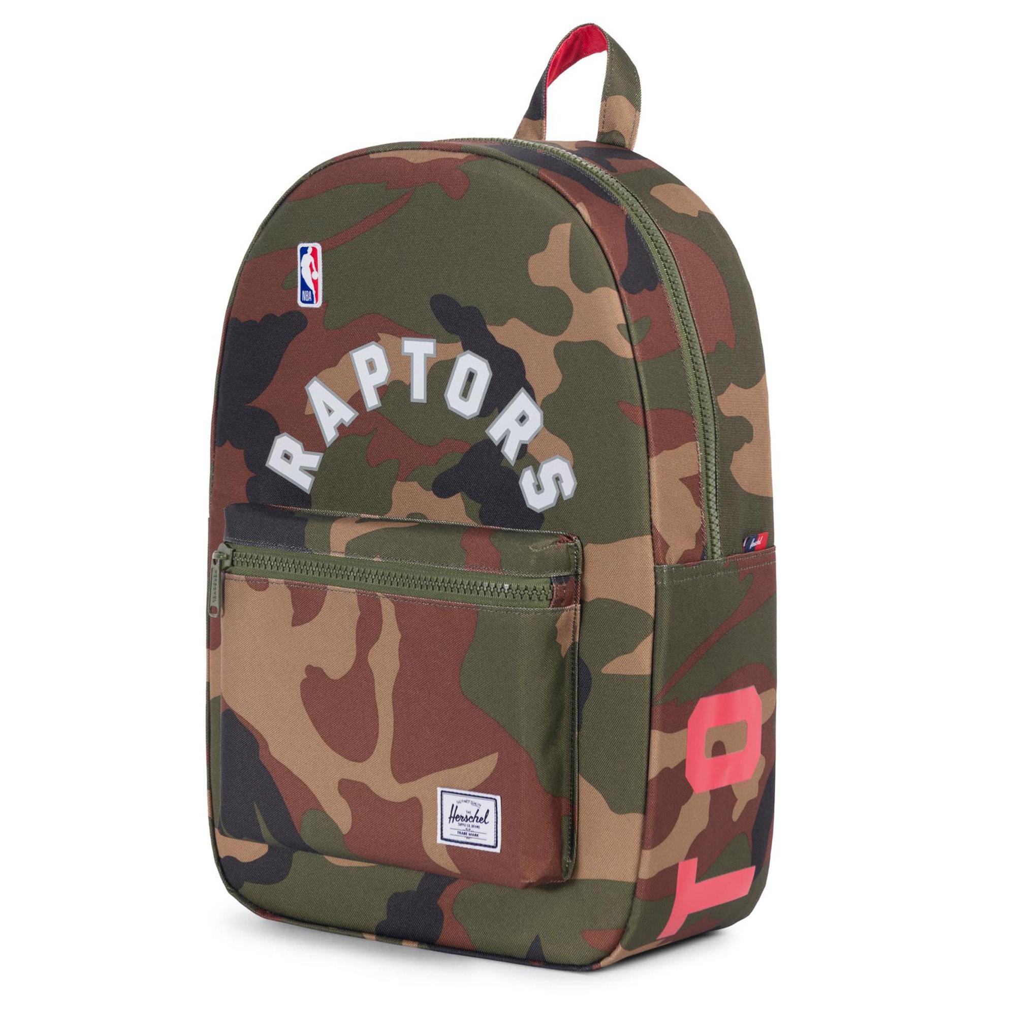 Toronto Raptors Herschel Supply Co. Settlement Camo Backpack