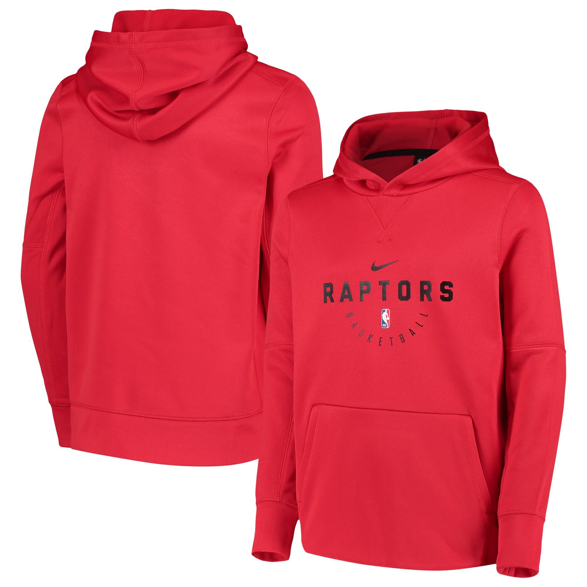Toronto Raptors Nike Youth Spotlight Performance Hoodie - Red