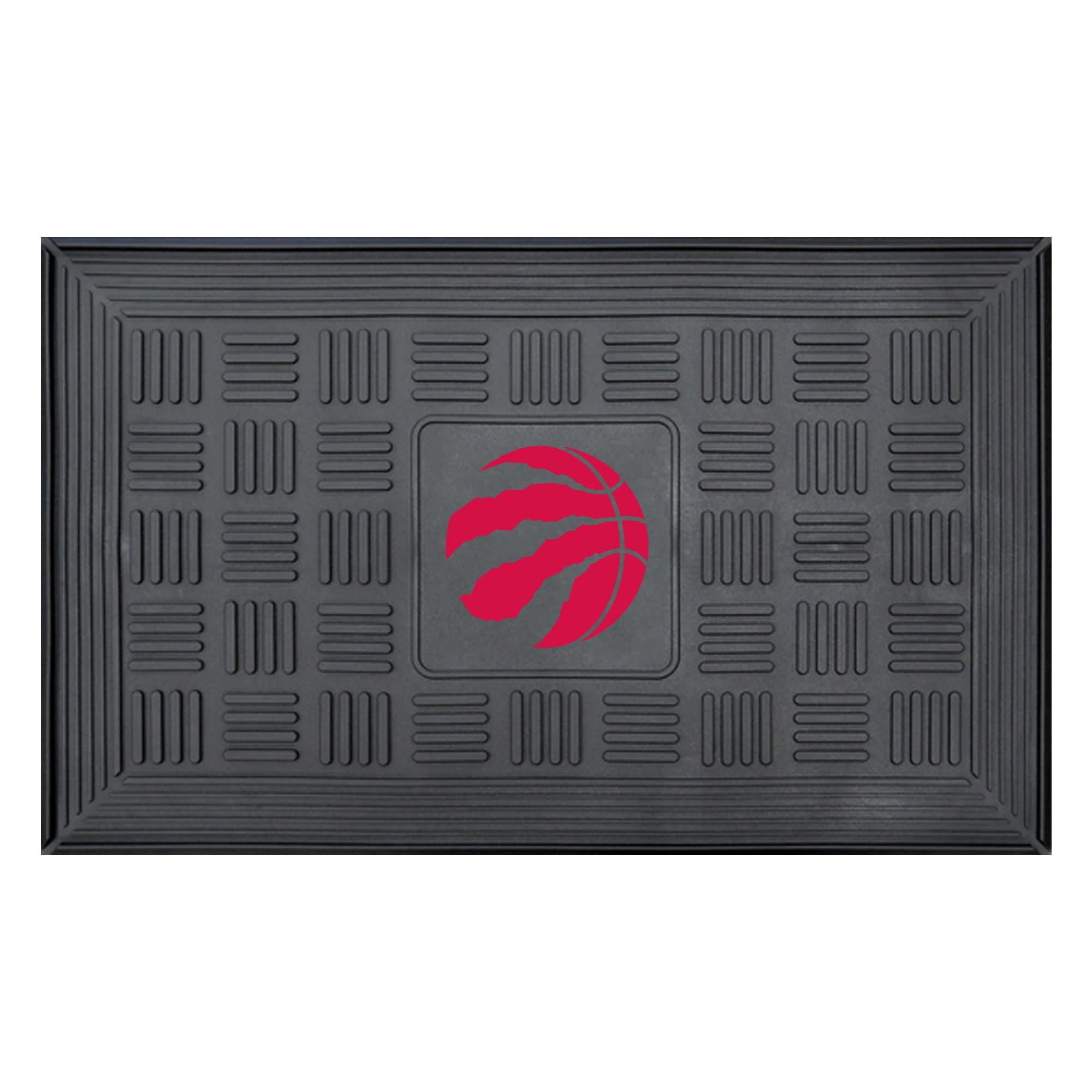 """Toronto Raptors 19.5"""" x 31.25"""" Medallion Door Mat"""