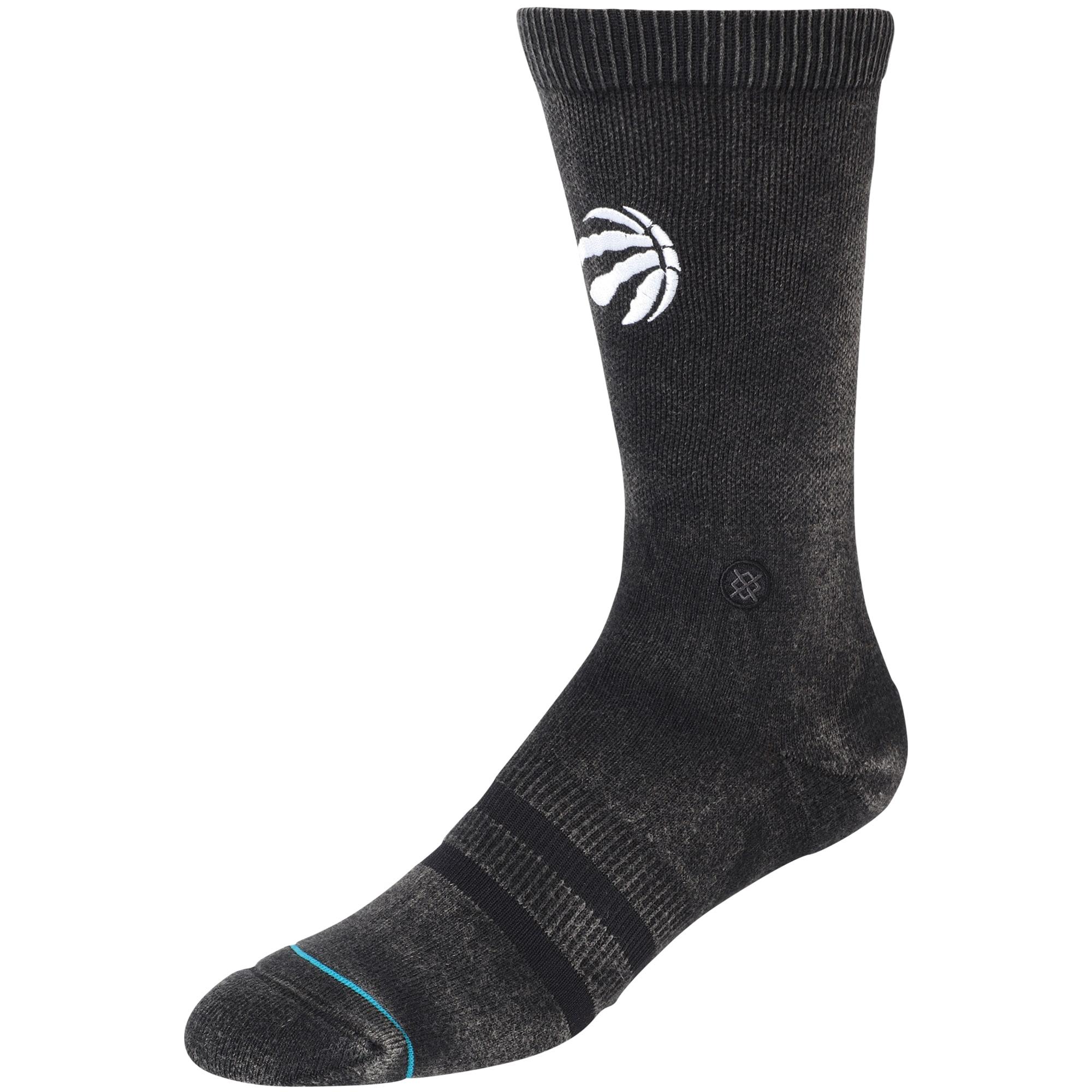 Toronto Raptors Stance Blacktop Crew Sock