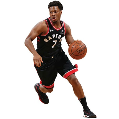Kyle Lowry Toronto Raptors Fathead Life Size Removable Wall Decal