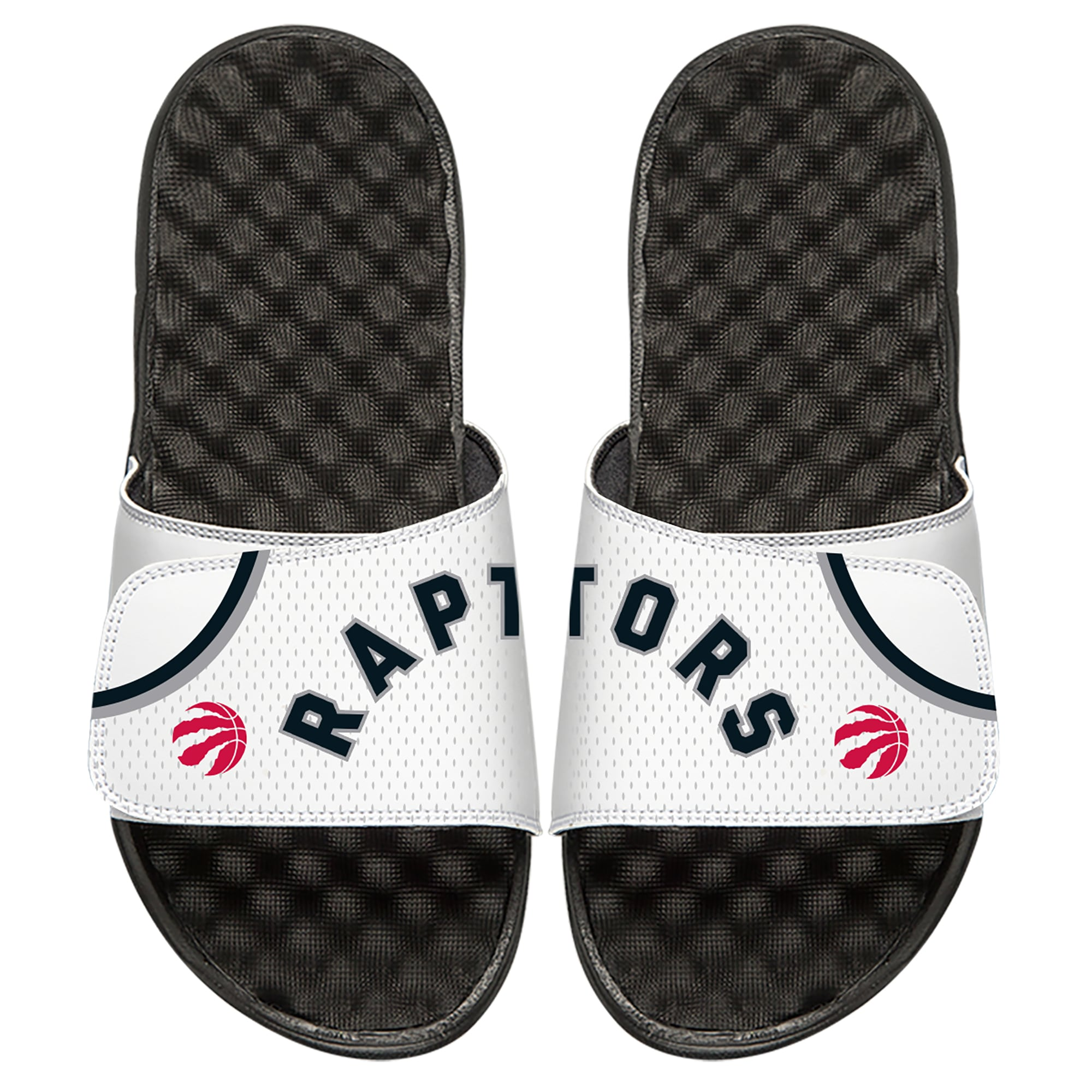 Toronto Raptors ISlide Youth Home Jersey Slide Sandals - White