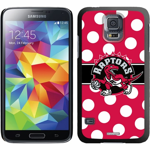 Toronto Raptors Galaxy S5 Polka Dot Thin-Shield Case