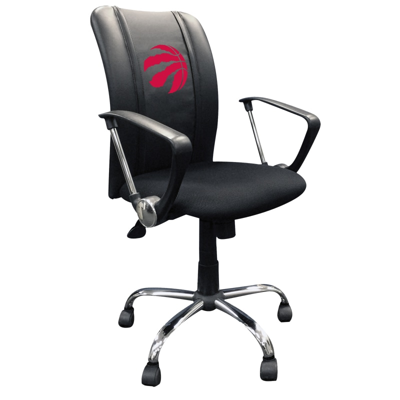 Toronto Raptors Red Logo Curve Task Chair