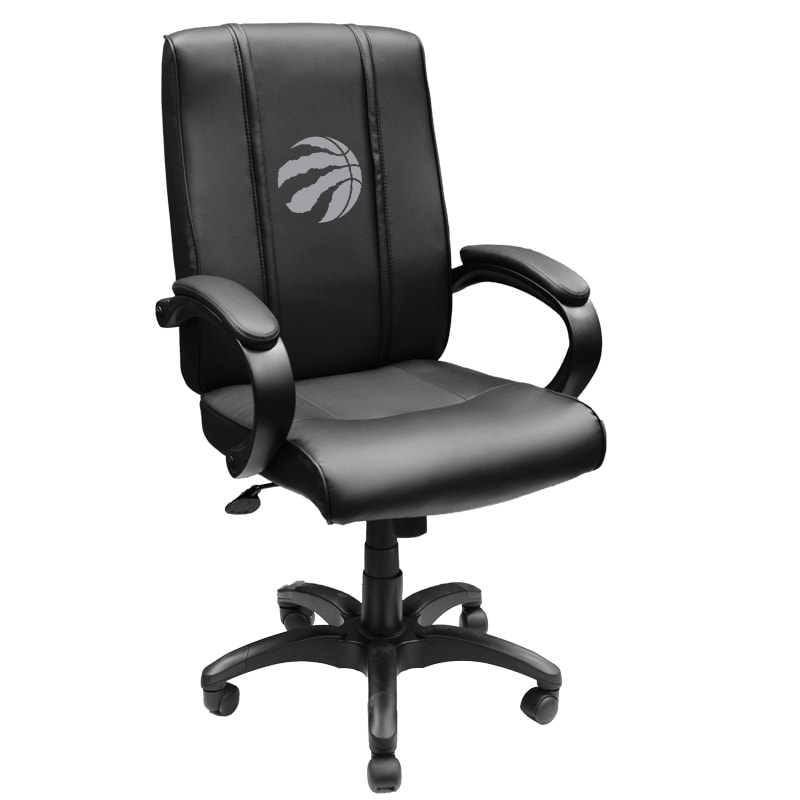 Toronto Raptors Silver Logo Office Chair 1000