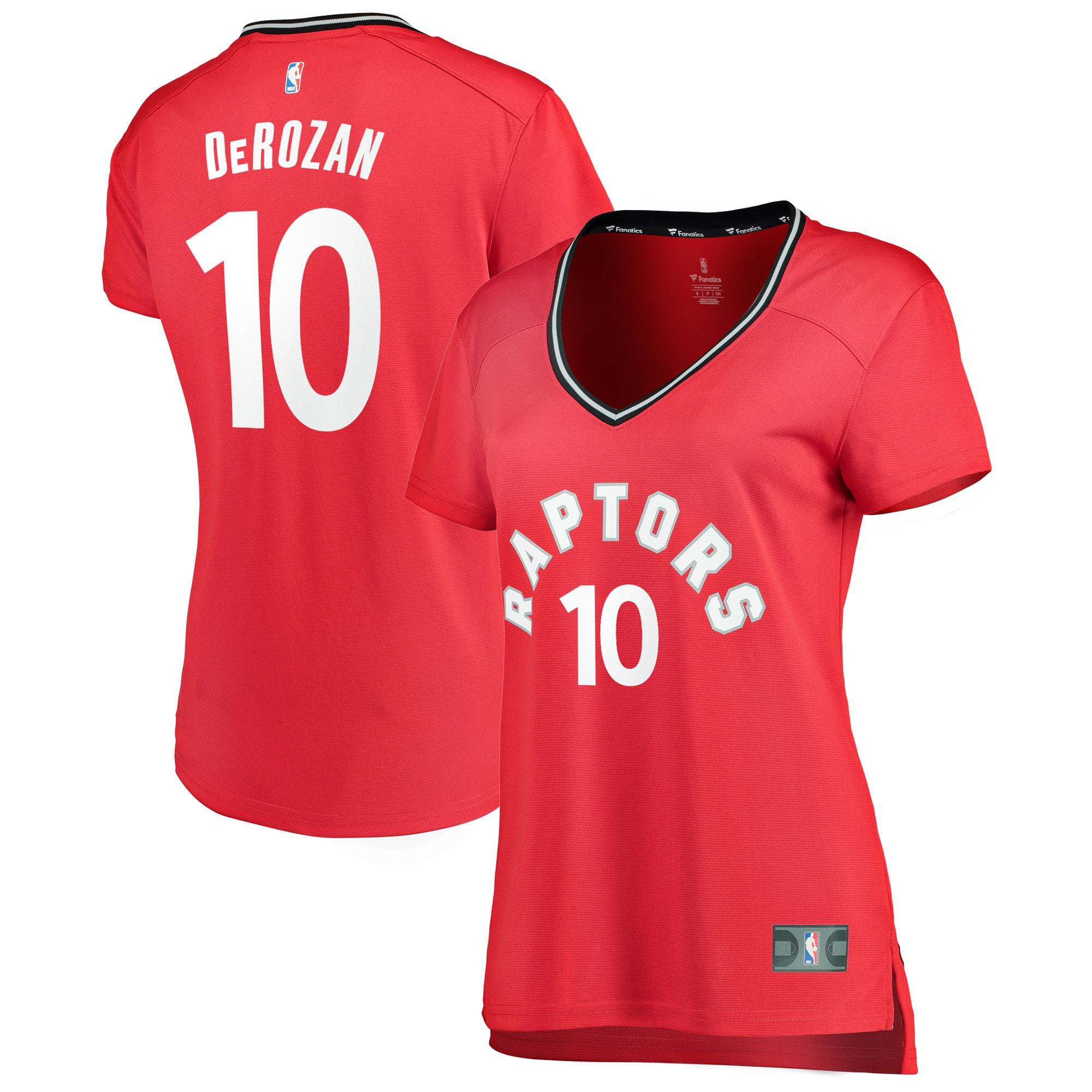 DeMar DeRozan Toronto Raptors Fanatics Branded Women's Fast Break Replica Jersey Red - Icon Edition