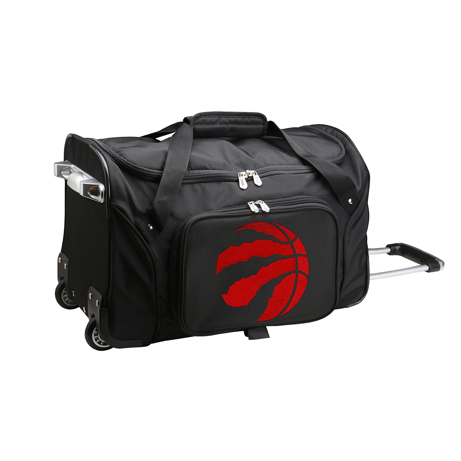 "Toronto Raptors 22"" 2-Wheeled Duffel Bag - Black"