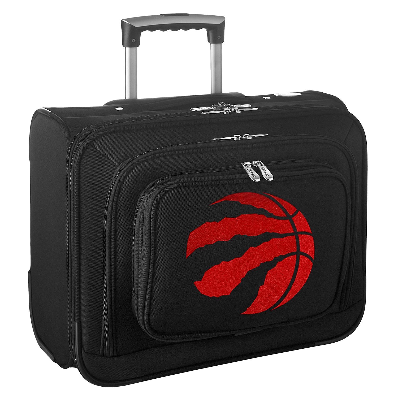 "Toronto Raptors 14"" 2-Wheeled Laptop Overnighter Travel Case - Black"