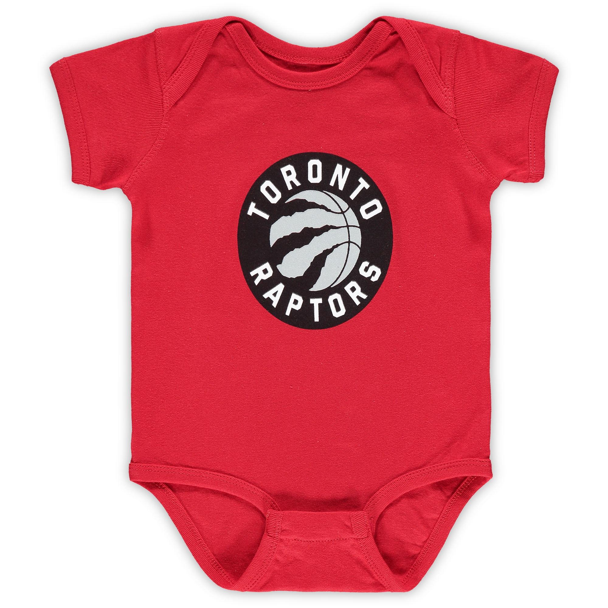 Toronto Raptors Infant Primary Team Logo Bodysuit - Red