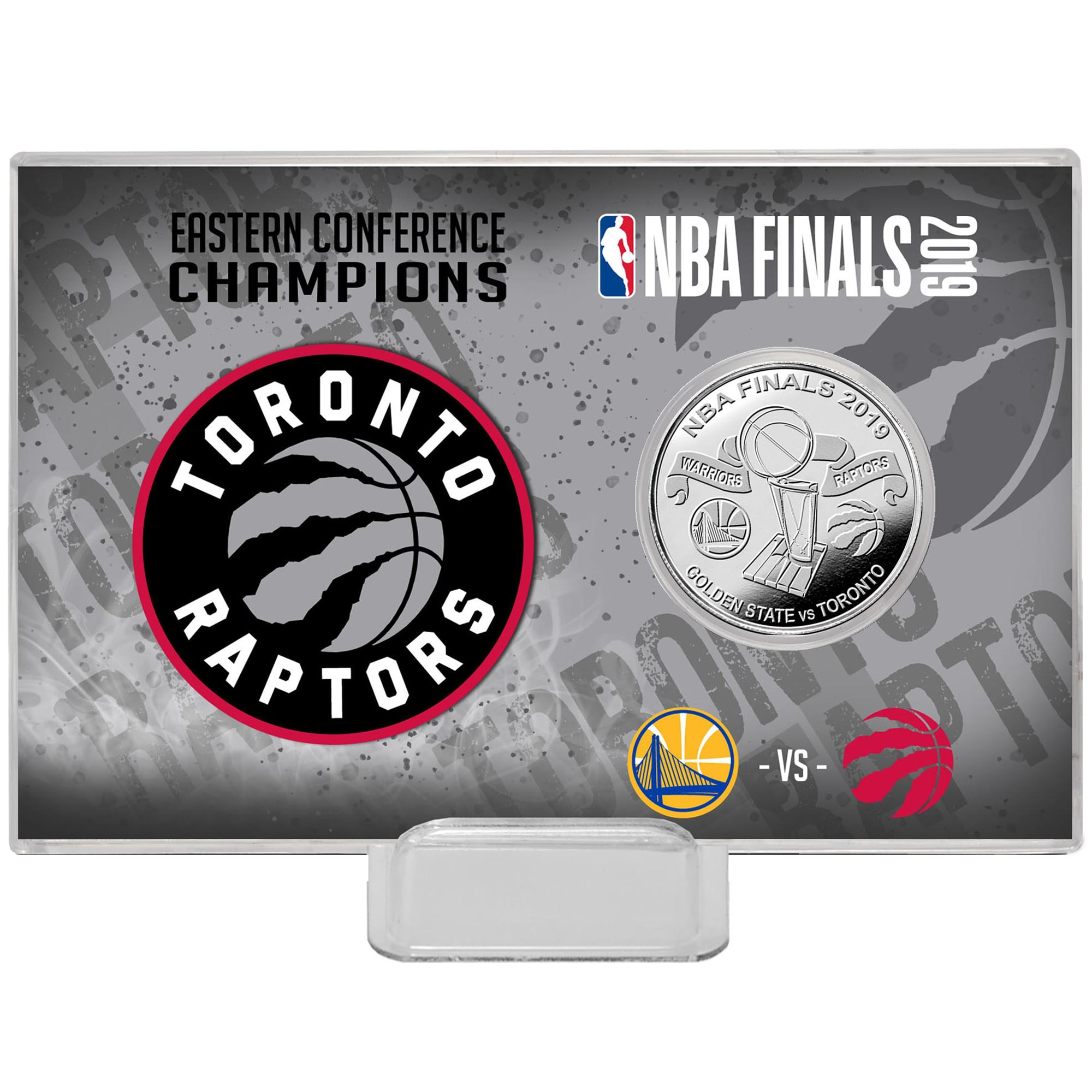Toronto Raptors Highland Mint 2019 Eastern Conference Champions 4'' x 6'' Silver Coin Card