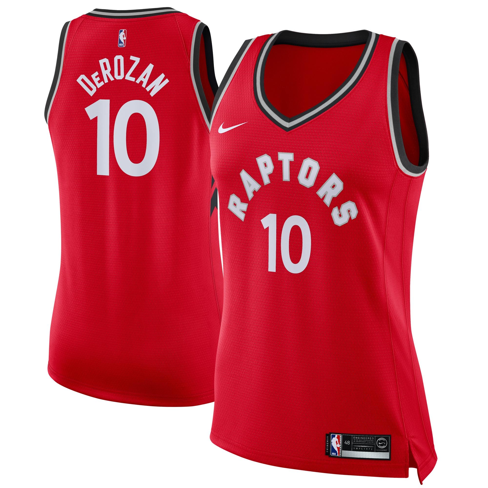DeMar DeRozan Toronto Raptors Nike Women's Swingman Jersey Red - Icon Edition