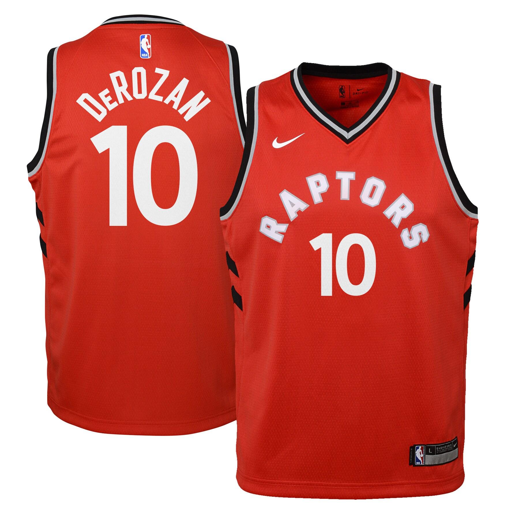 DeMar DeRozan Toronto Raptors Nike Youth Swingman Jersey Red - Icon Edition