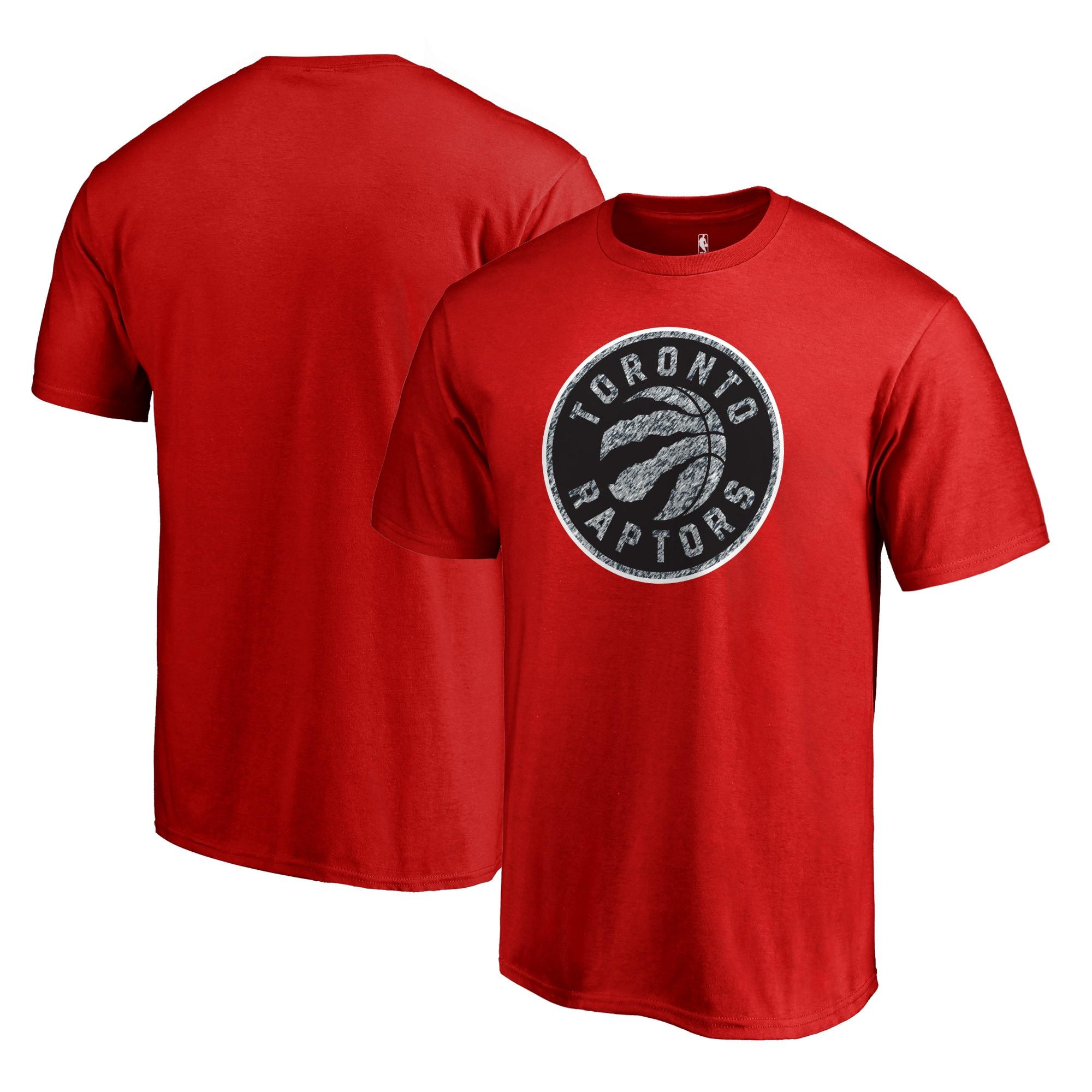 Toronto Raptors Fanatics Branded Static Logo T-Shirt - Red