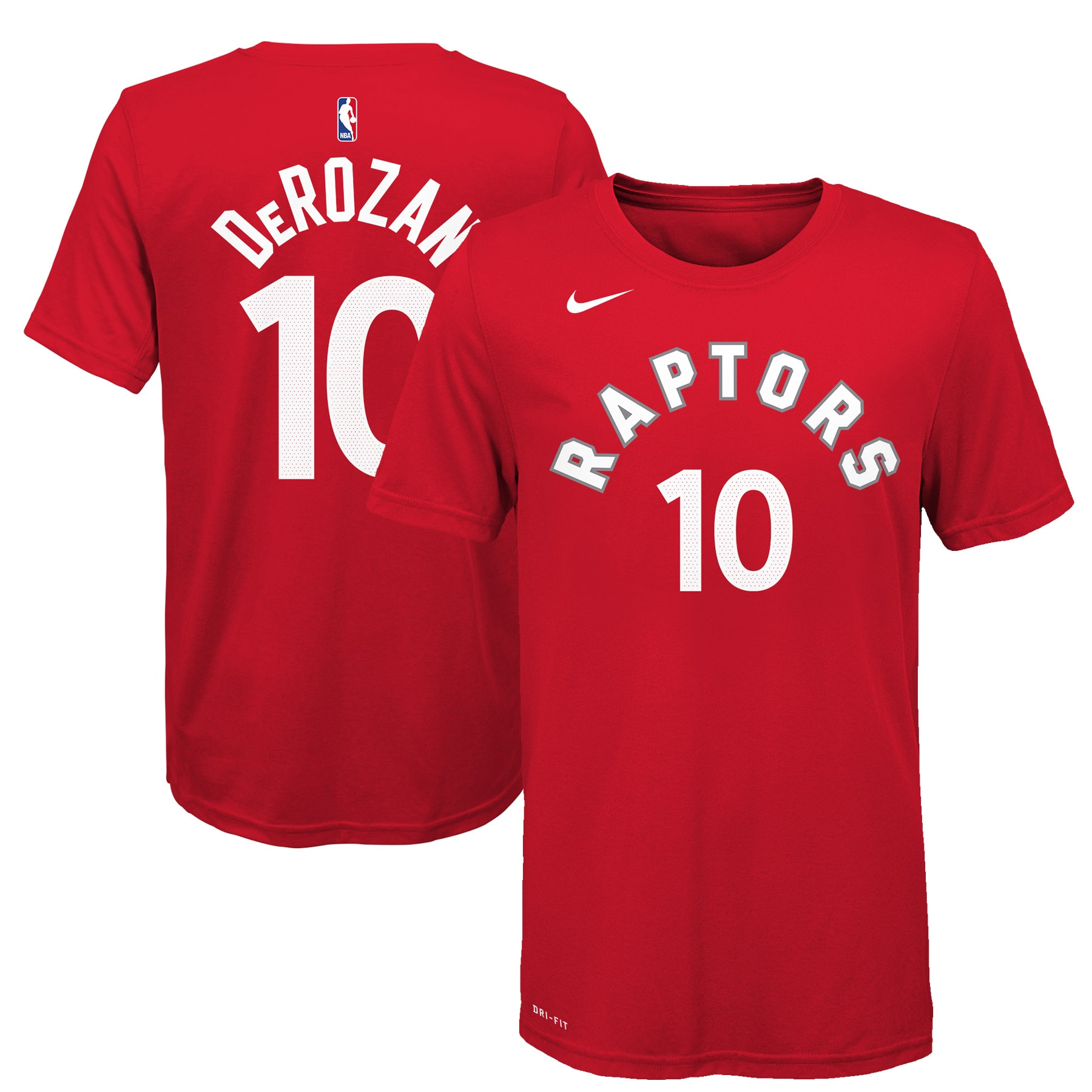 DeMar DeRozan Toronto Raptors Nike Youth Name & Number T-Shirt - Red