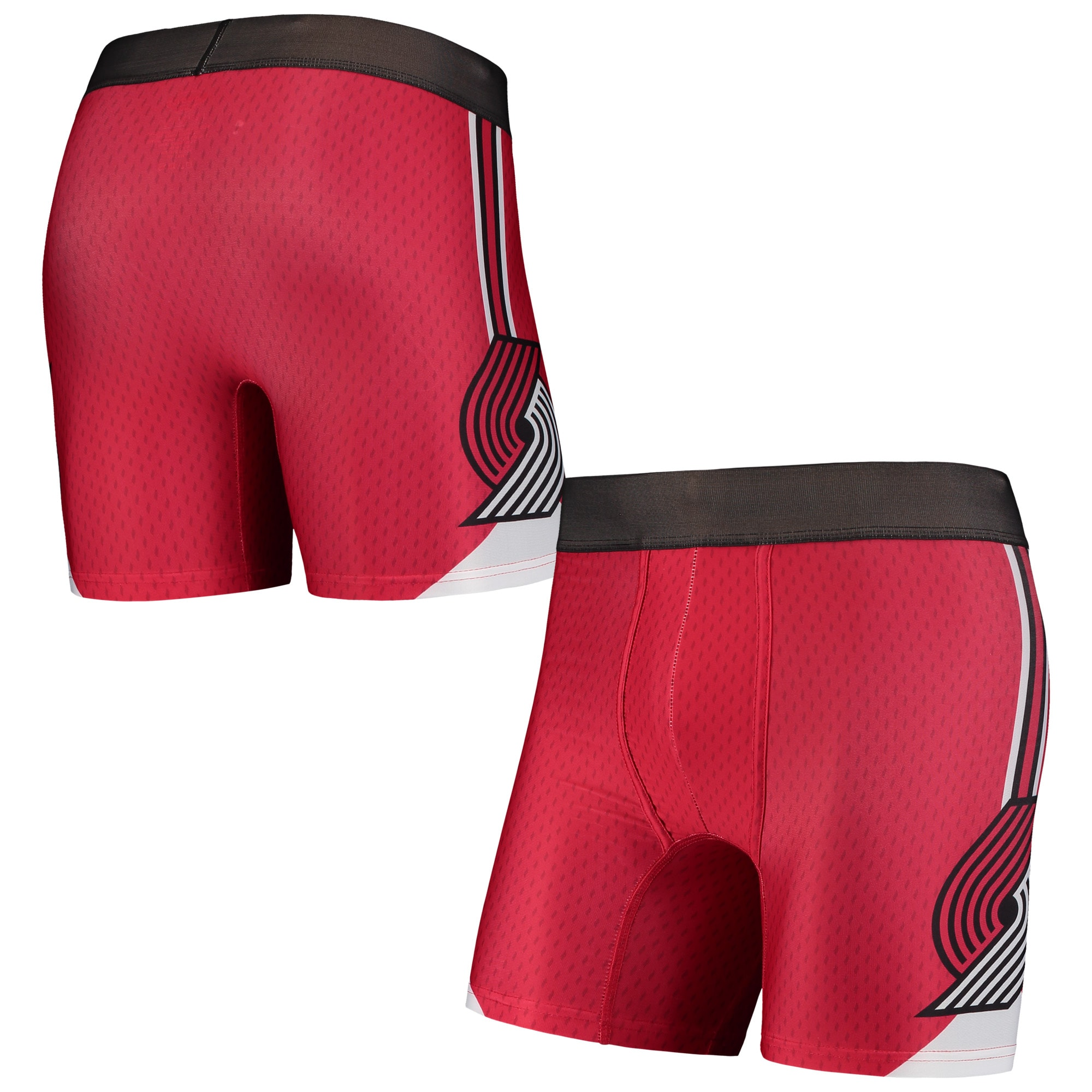 Portland Trail Blazers Concepts Sport Flyaway Swingman Boxer Briefs - Red