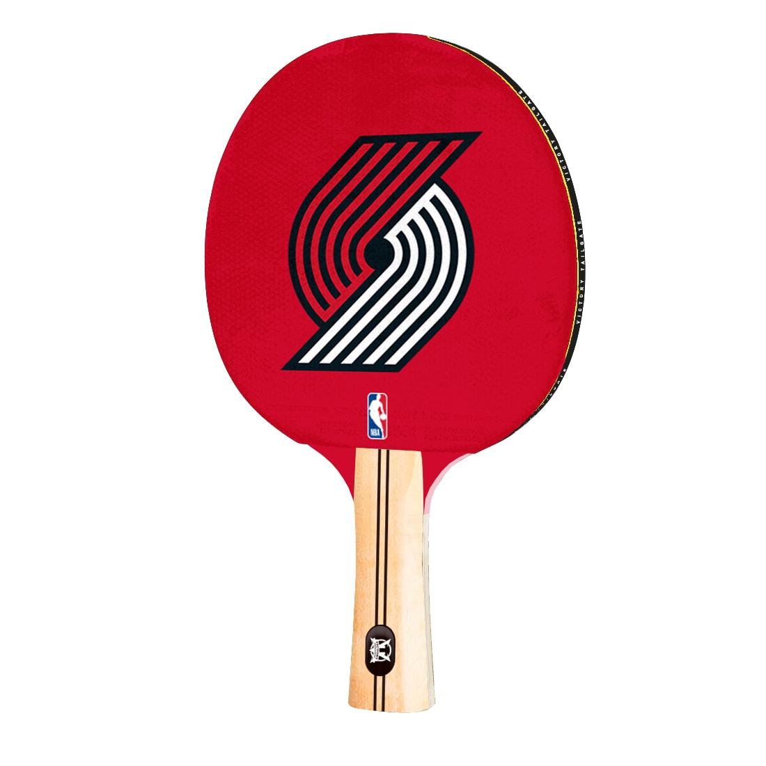 Portland Trail Blazers Logo Table Tennis Paddle