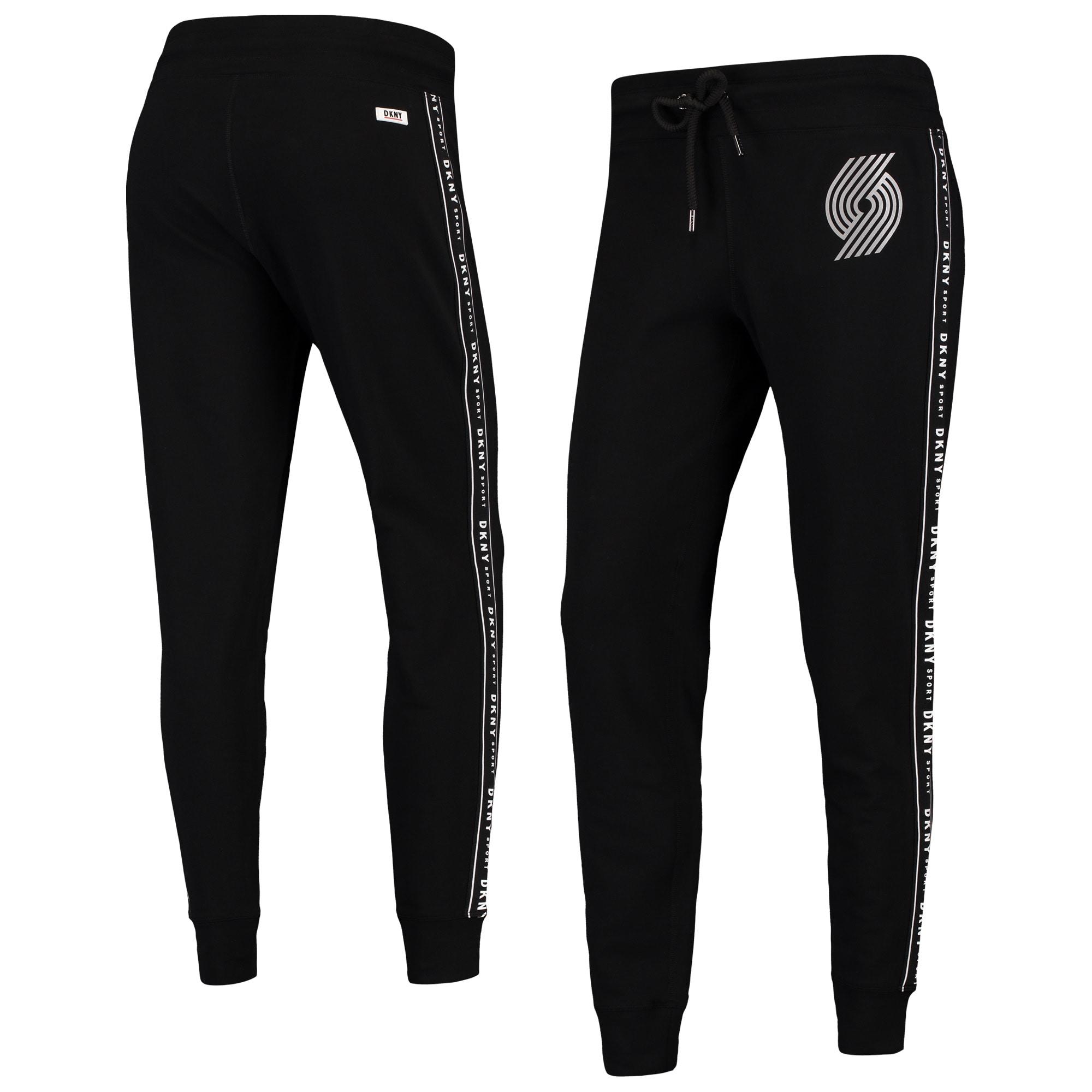 Portland Trail Blazers DKNY Sport Women's Brooke Jogger Pants - Black