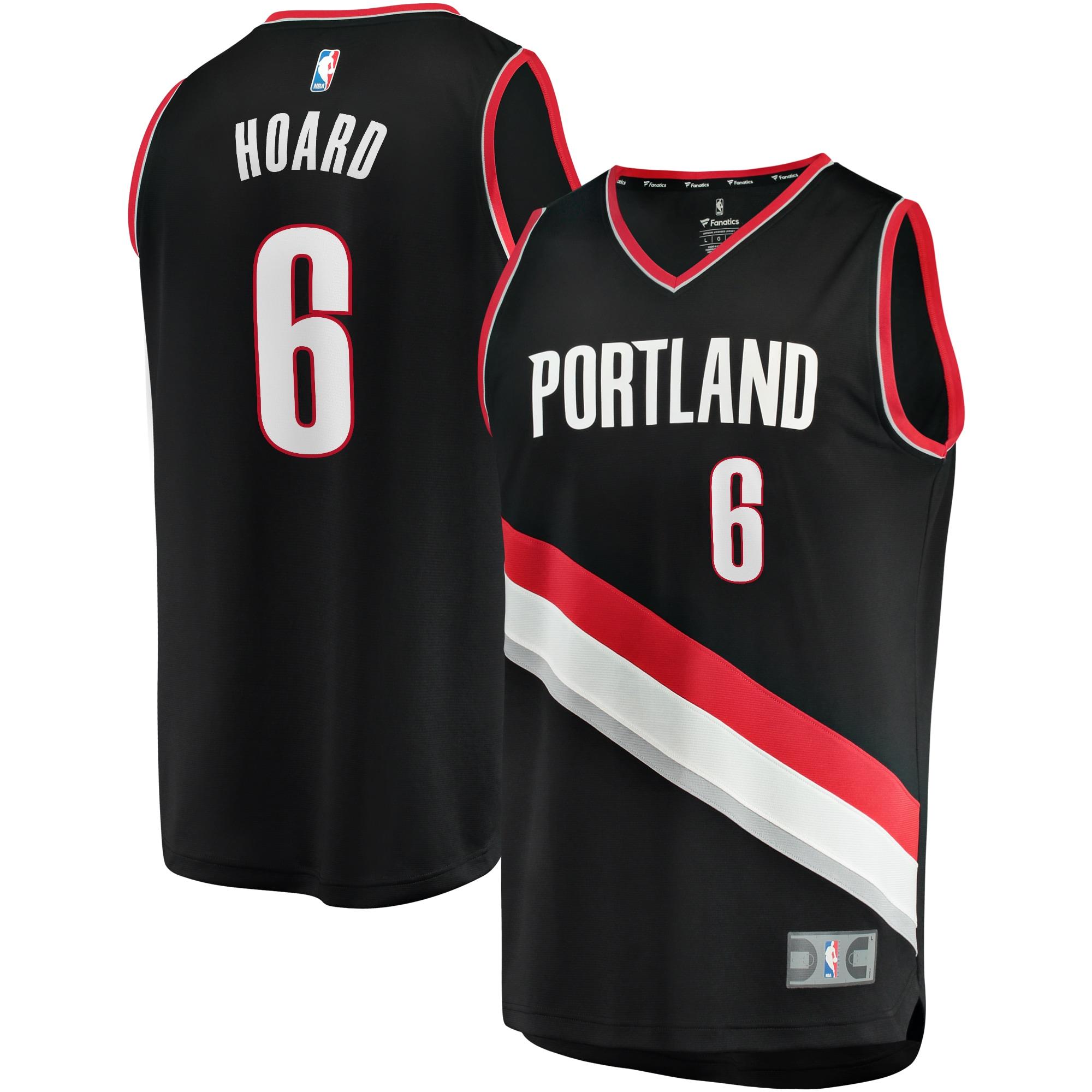 Jaylen Hoard Portland Trail Blazers Fanatics Branded Youth Fast Break Replica Player Jersey - Icon Edition - Black