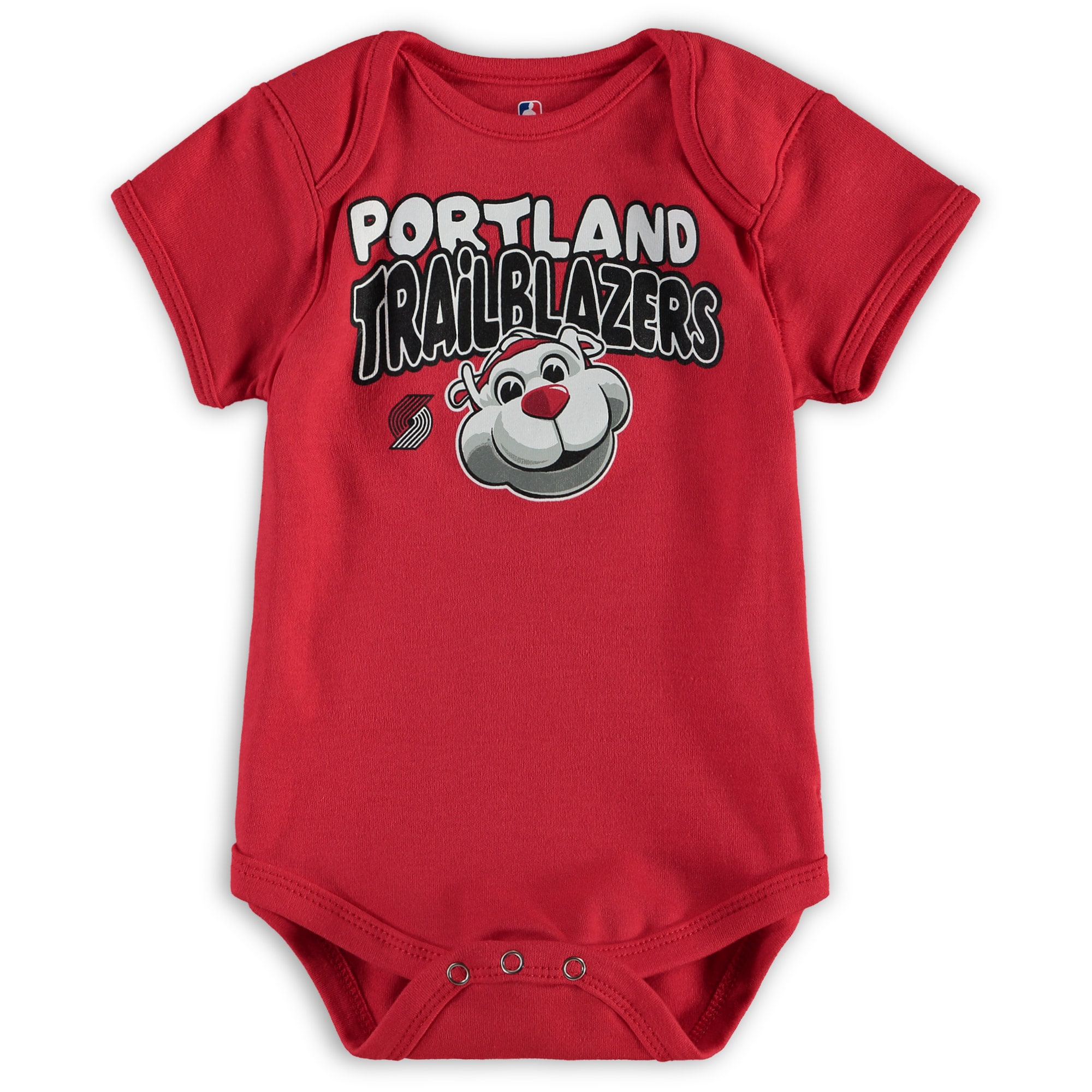 Portland Trail Blazers Infant Bubble Letter Bodysuit - Red