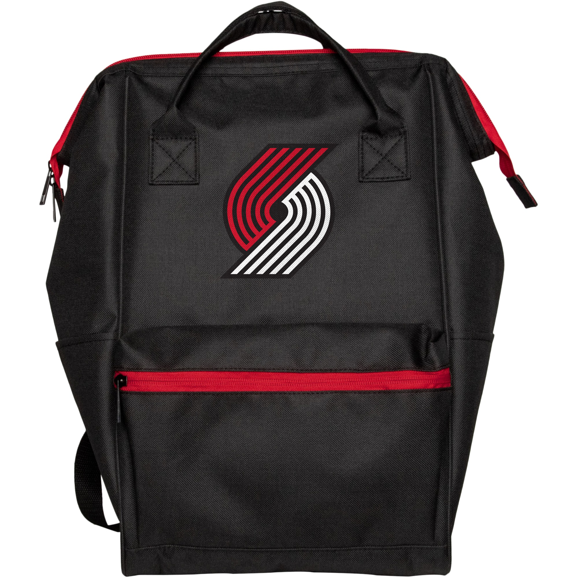 Portland Trail Blazers Black Collection Color Pop Backpack