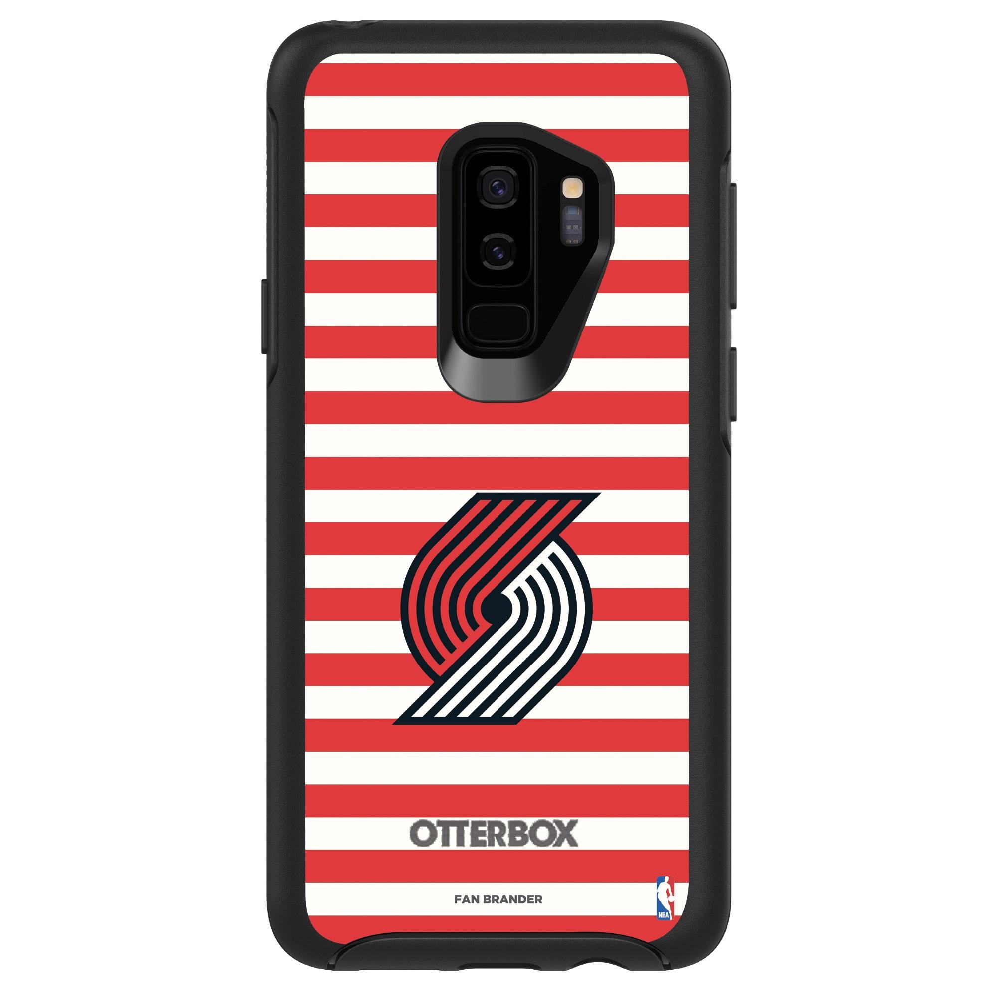 Portland Trail Blazers OtterBox Galaxy Symmetry Striped Design Case