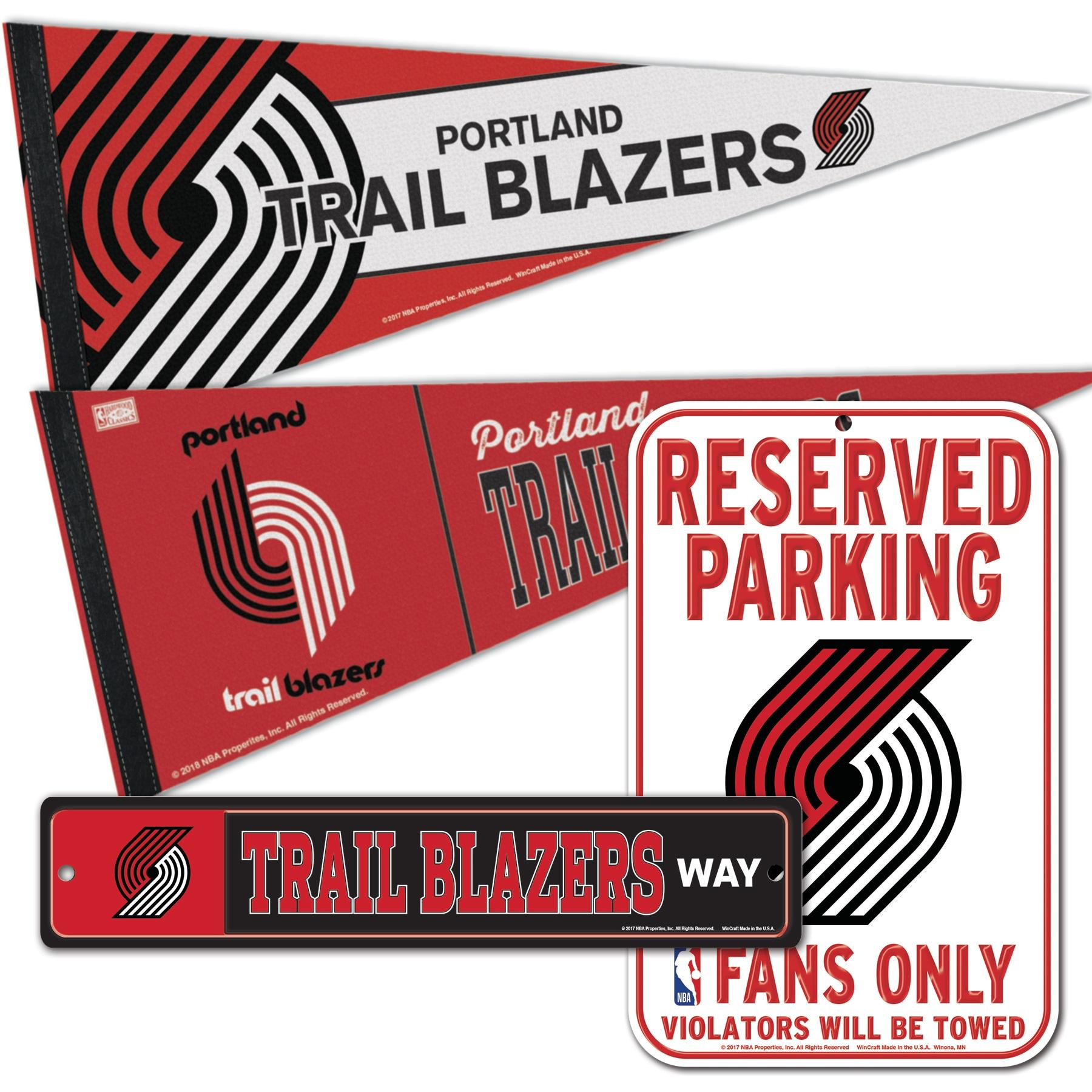 Portland Trail Blazers WinCraft Fan Cave Set
