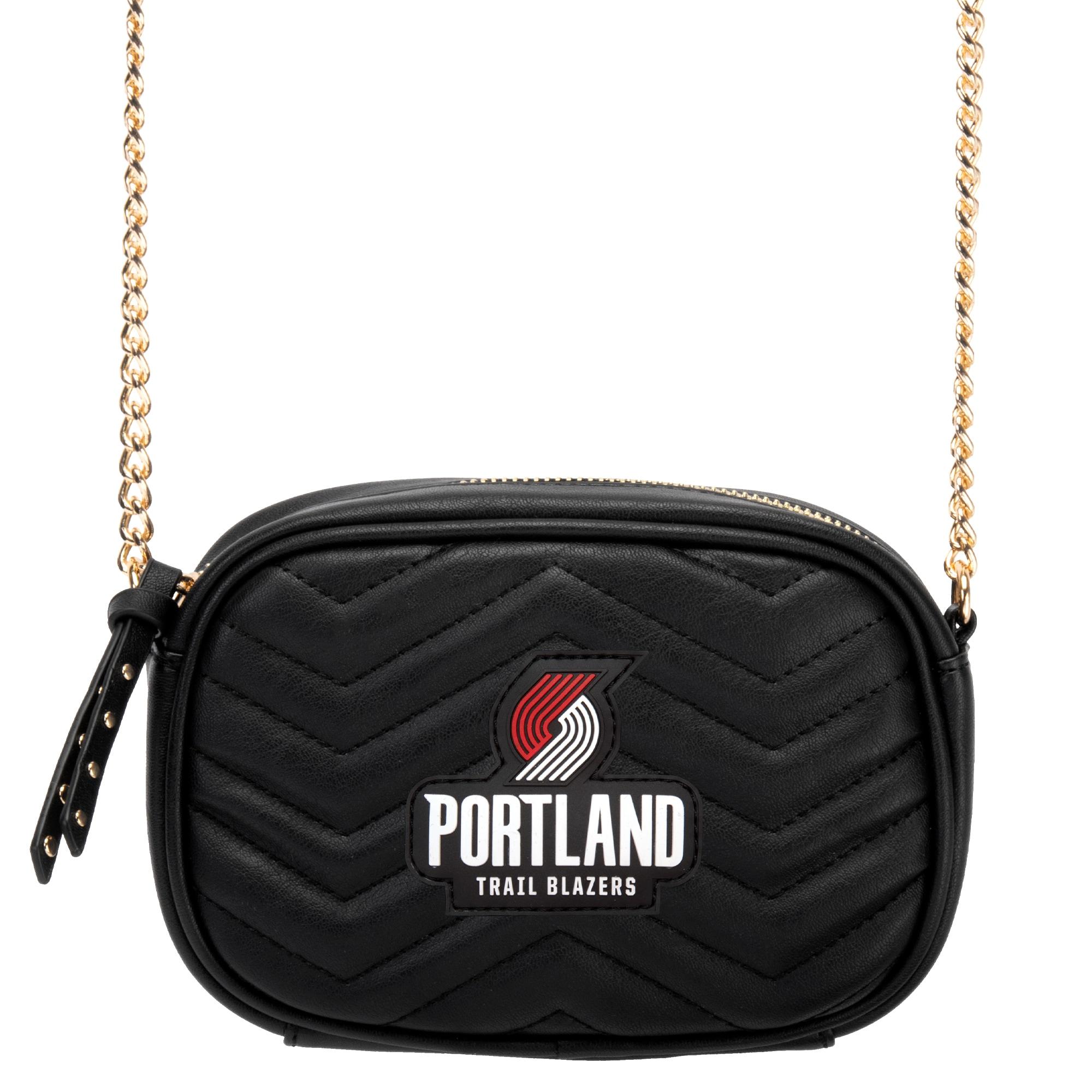 Portland Trail Blazers Women's Crossbody Bag - Black