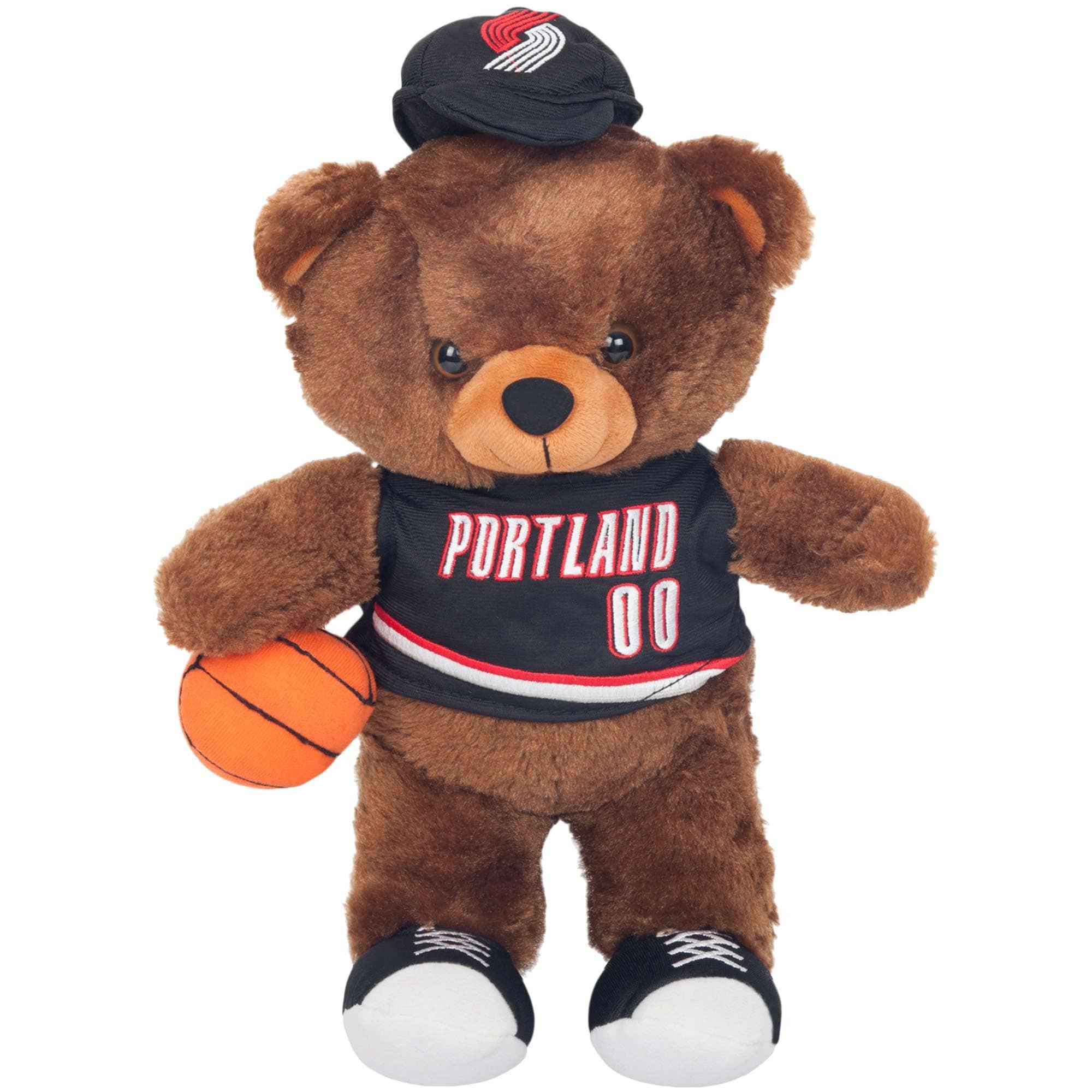 Portland Trail Blazers Locker Room Buddy Dress Me Plush Bear Kit