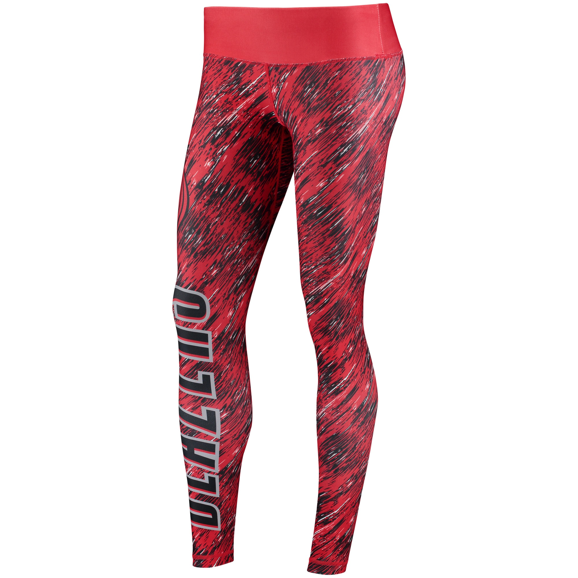 Portland Trail Blazers Women's Static Rain Leggings - Red